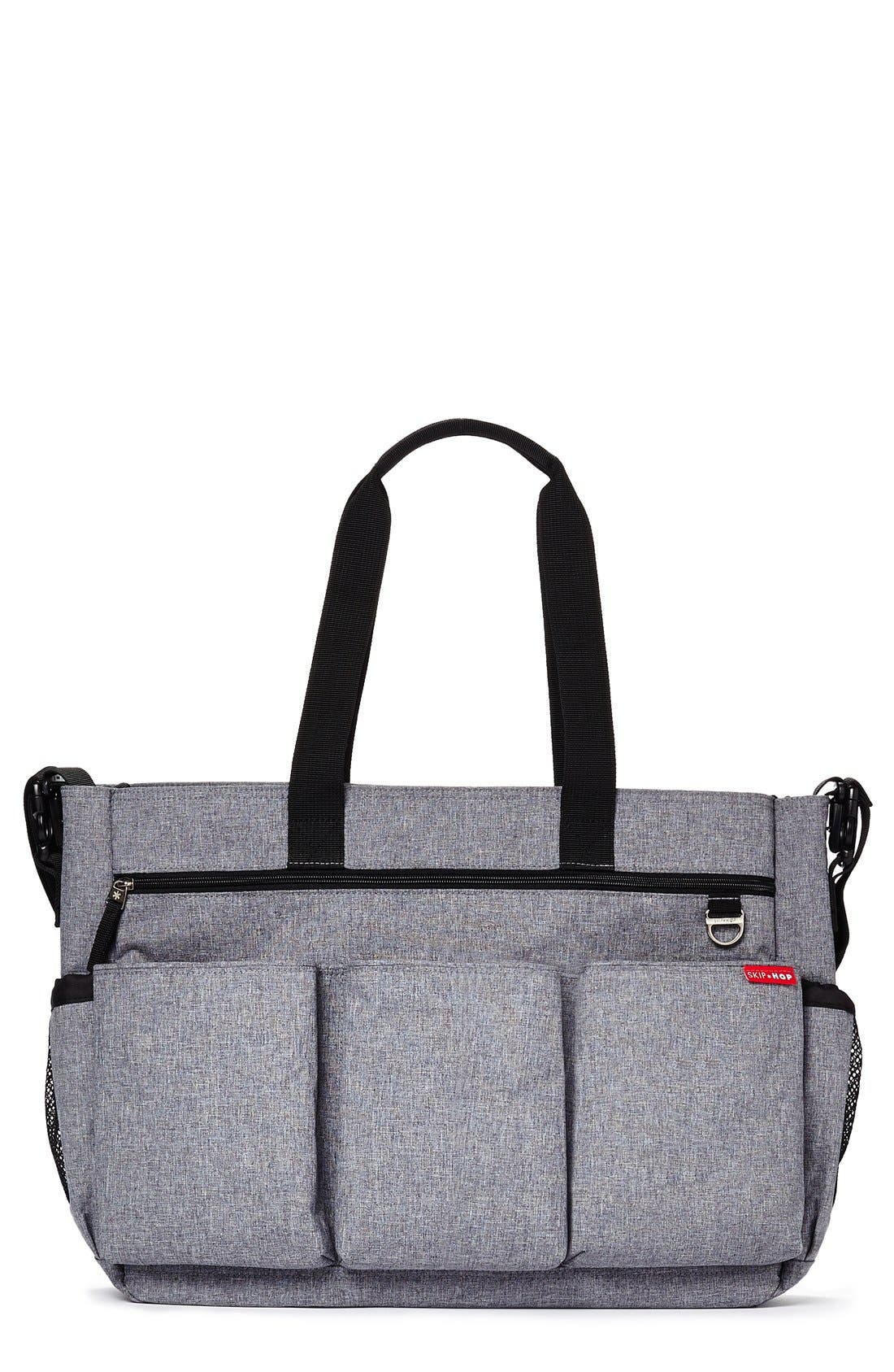 'Duo Double Signature' Diaper Bag,                         Main,                         color, 020