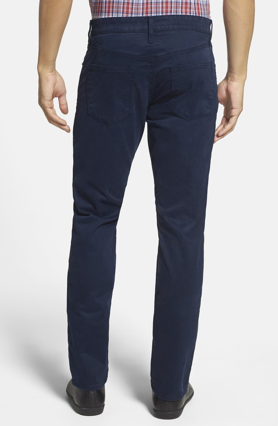 'Kane' Slim Fit Cotton Twill Pants,                             Alternate thumbnail 54, color,