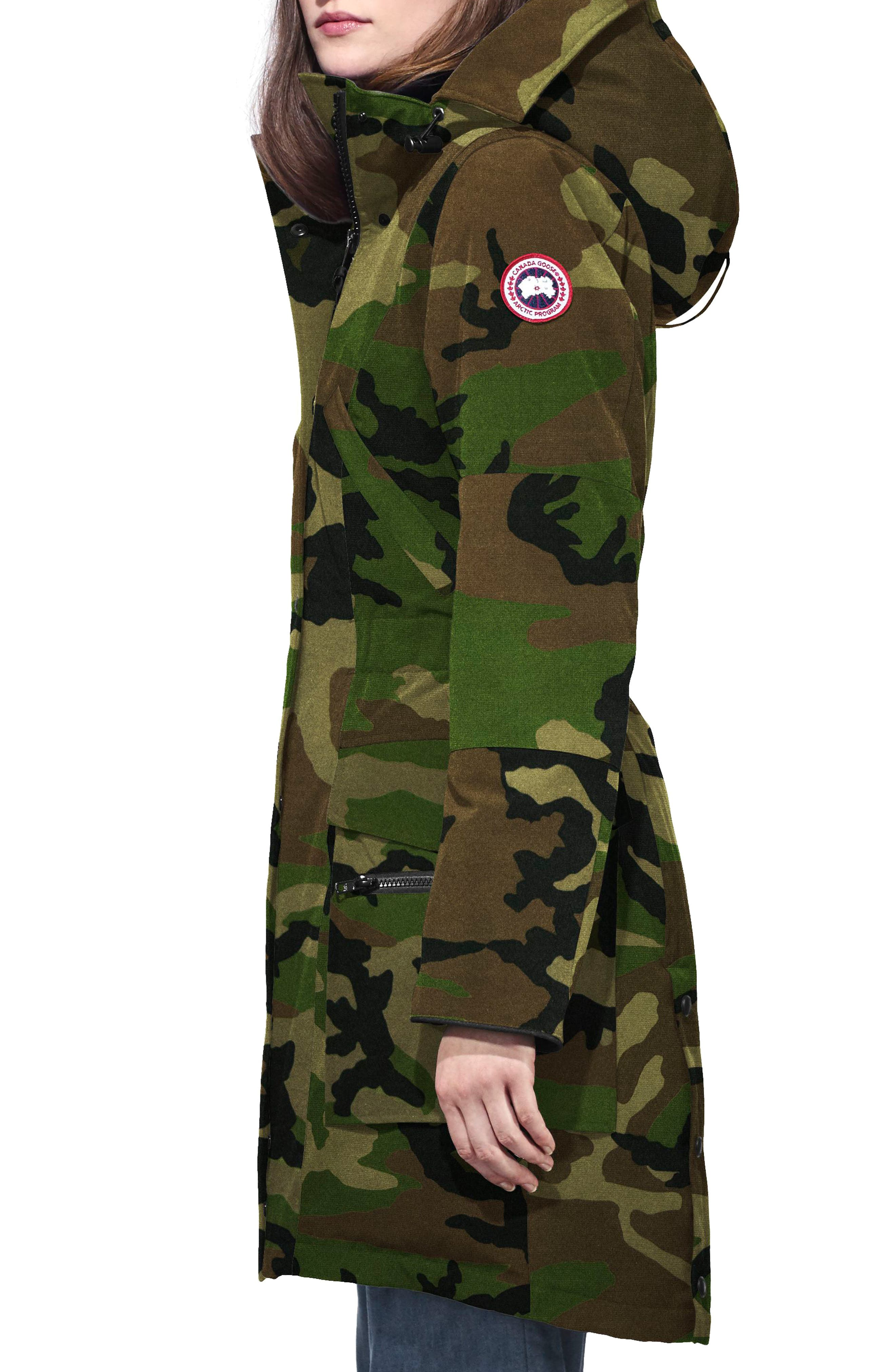 Kinley Insulated Parka,                             Alternate thumbnail 3, color,                             CLASSIC CAMO