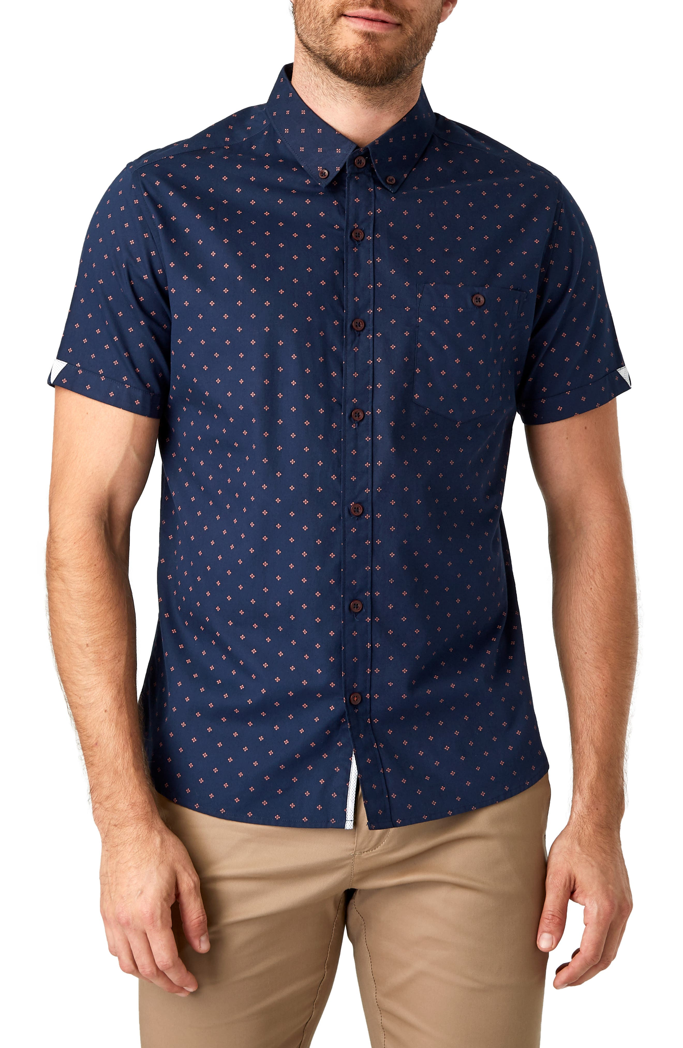 Tempted Slim Fit Sport Shirt by 7 Diamonds