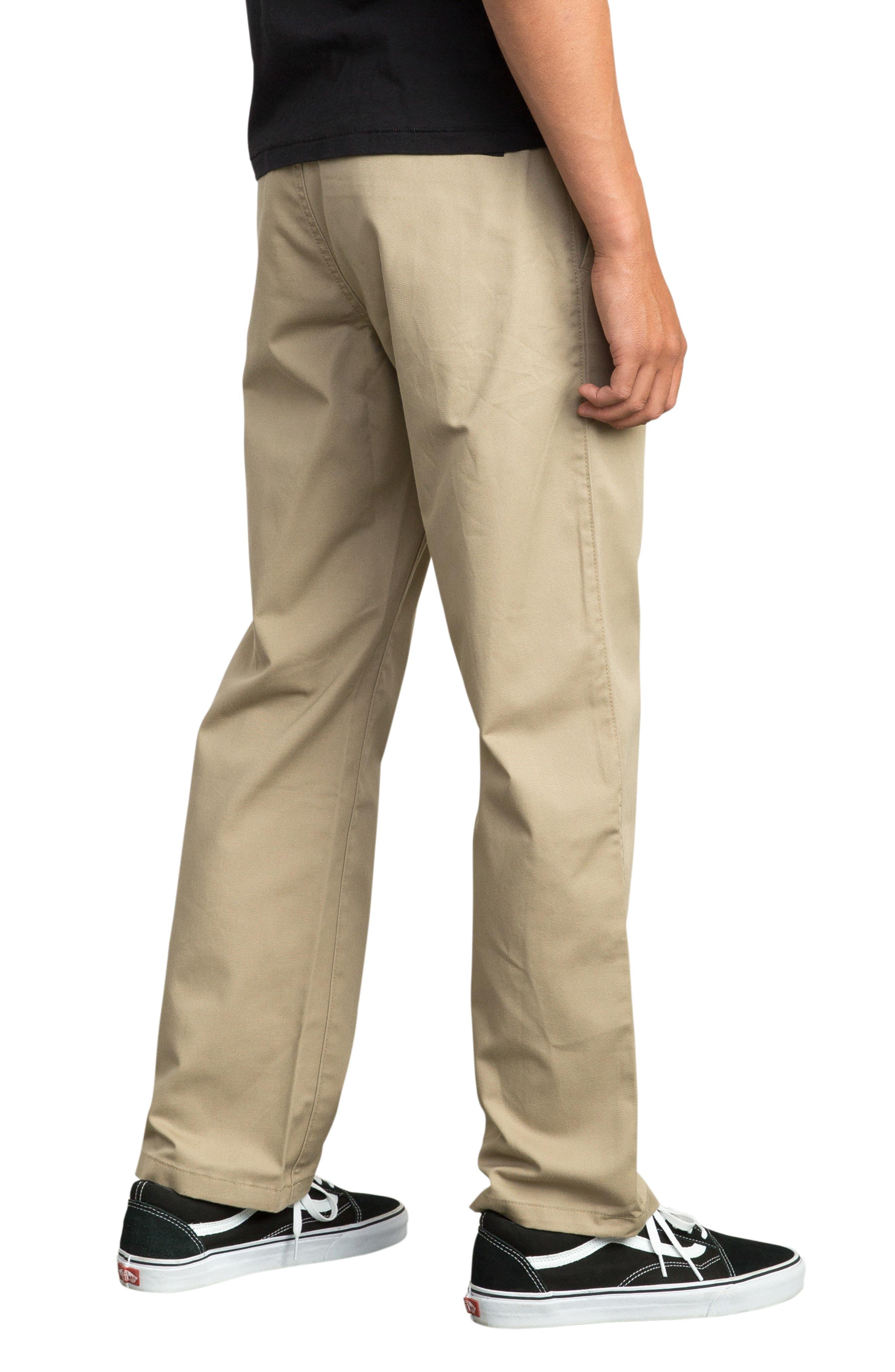 Big Chino Pants,                             Alternate thumbnail 3, color,                             WOOD