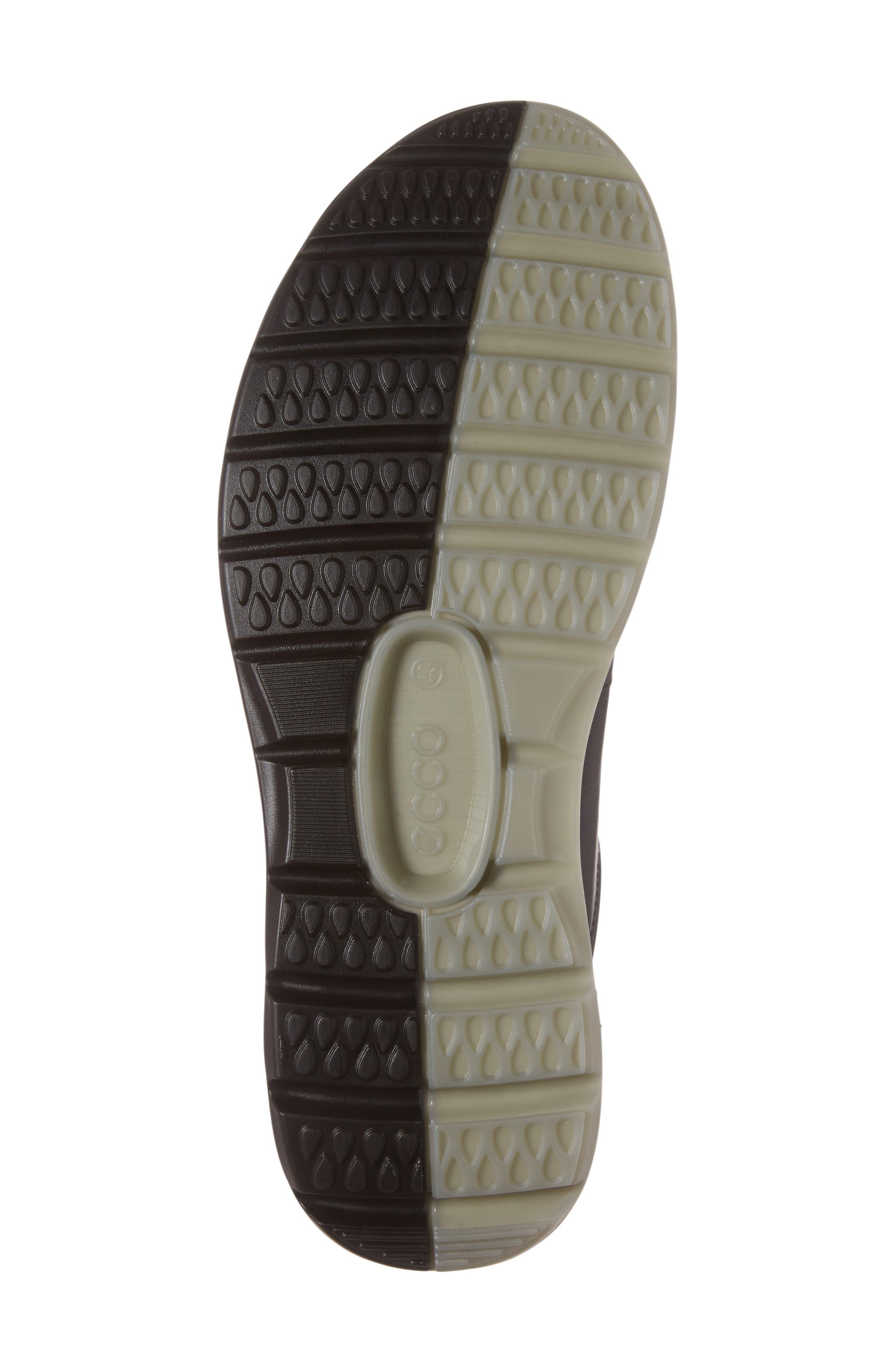 Cool 2.0 Leather GTX Sneaker,                             Alternate thumbnail 6, color,                             BLACK