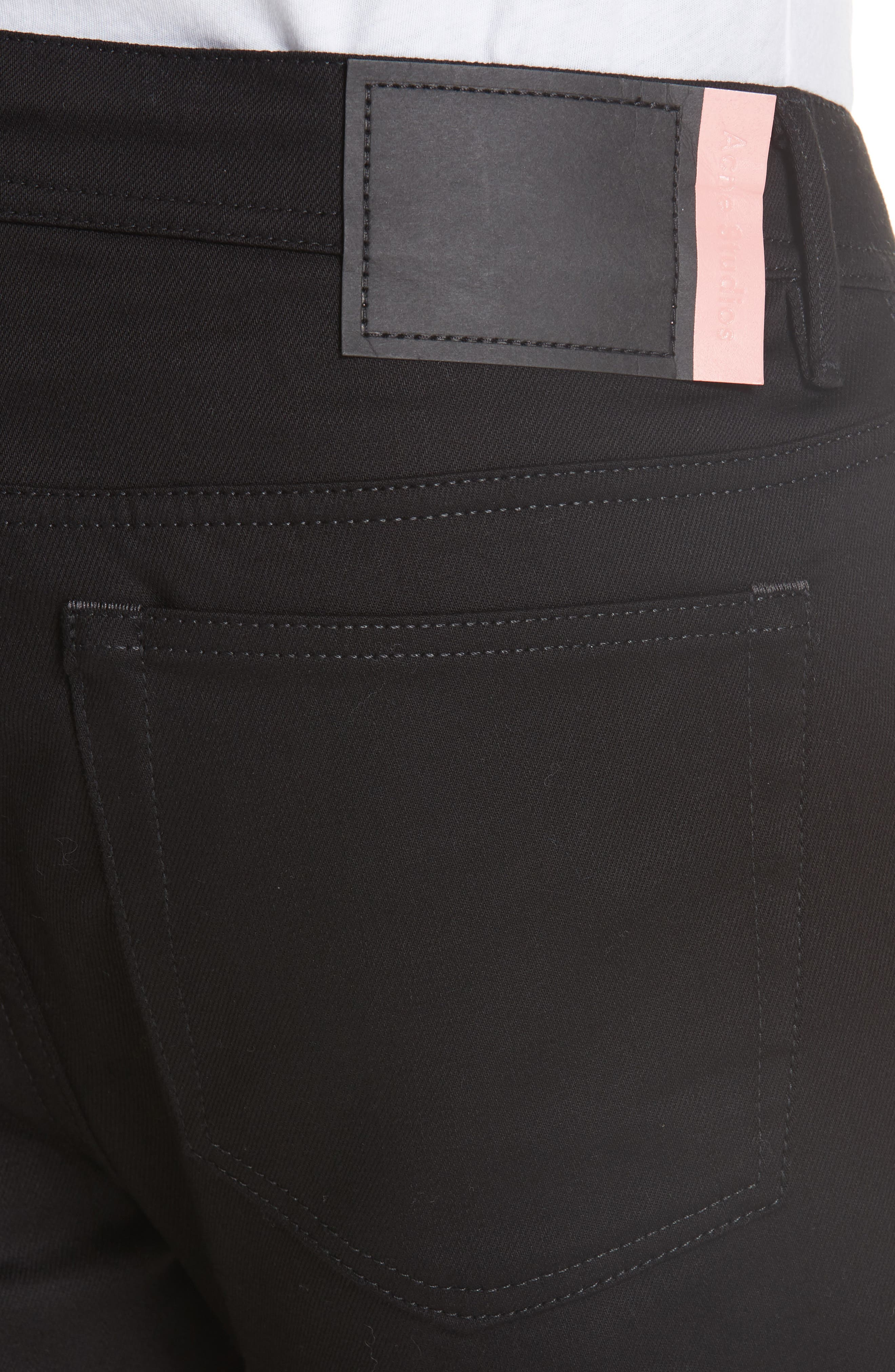 North Stay Slim Fit Jeans,                             Alternate thumbnail 4, color,                             NORTH STAY BLACK
