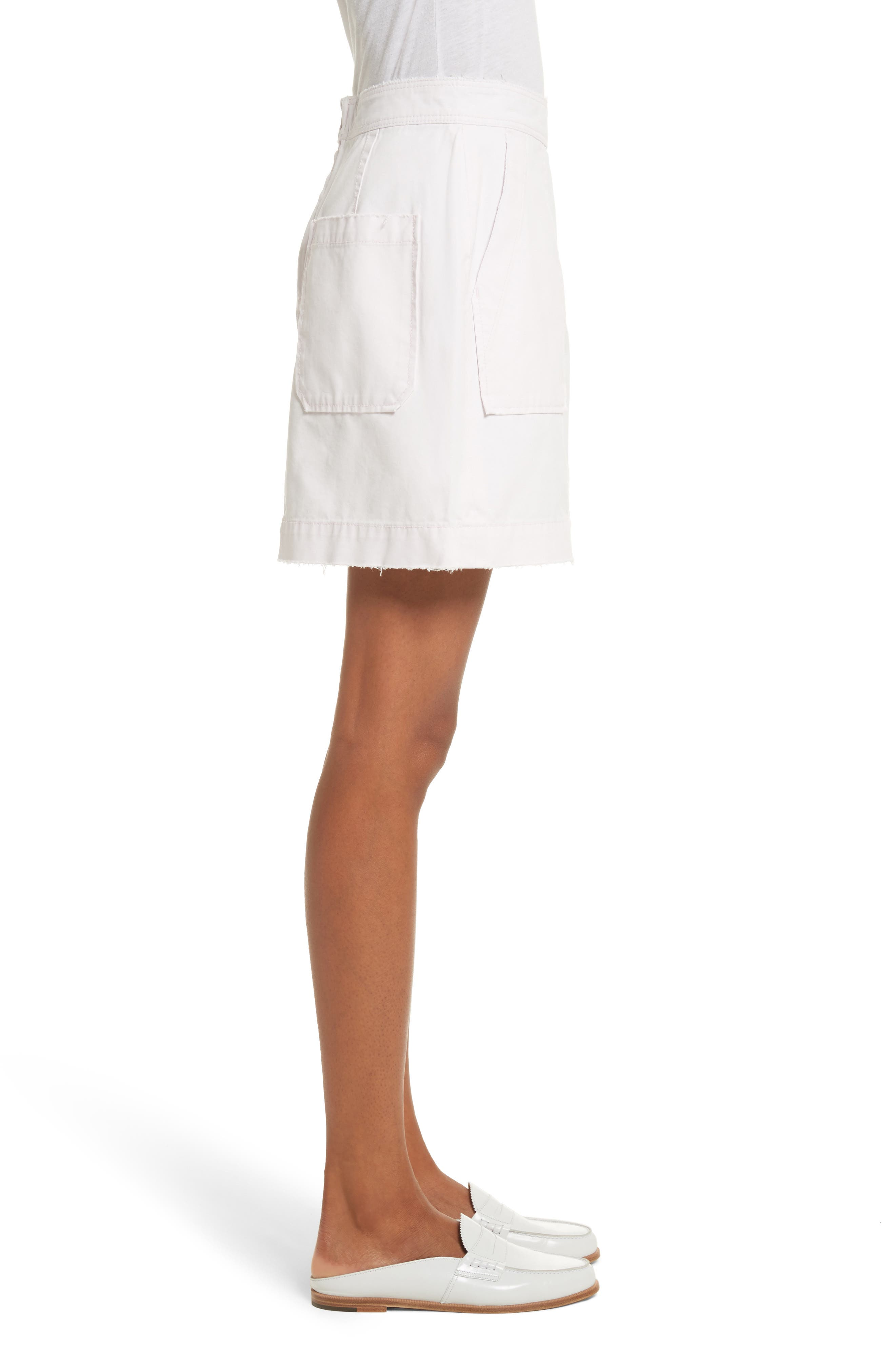 Army Twill Skirt,                             Alternate thumbnail 3, color,                             688