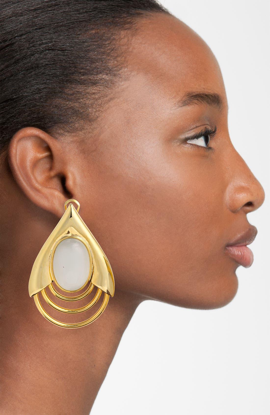 BELLE NOEL,                             Teardrop Earrings,                             Alternate thumbnail 2, color,                             710