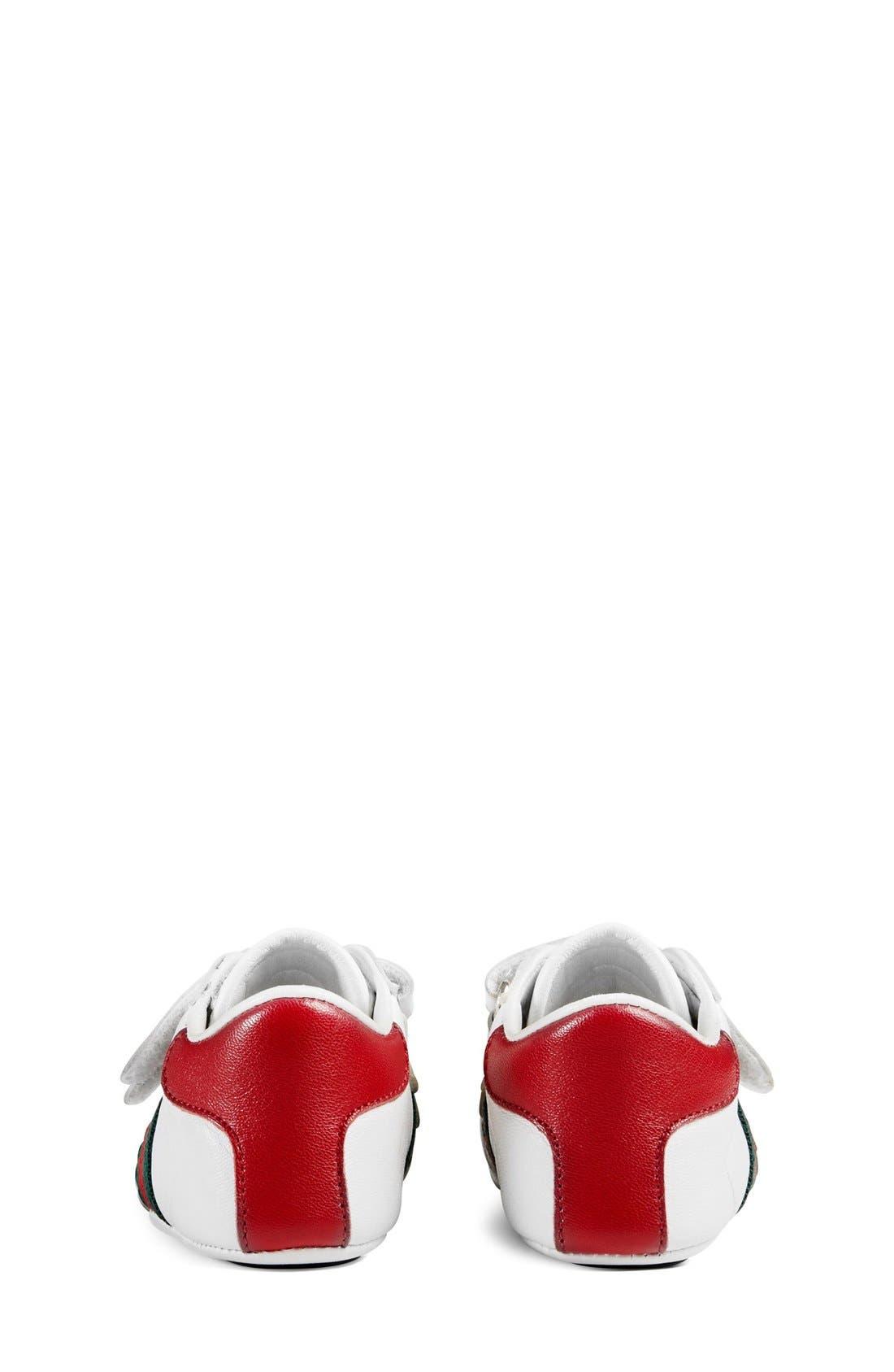 'Ace' Crib Shoe,                             Alternate thumbnail 7, color,                             100