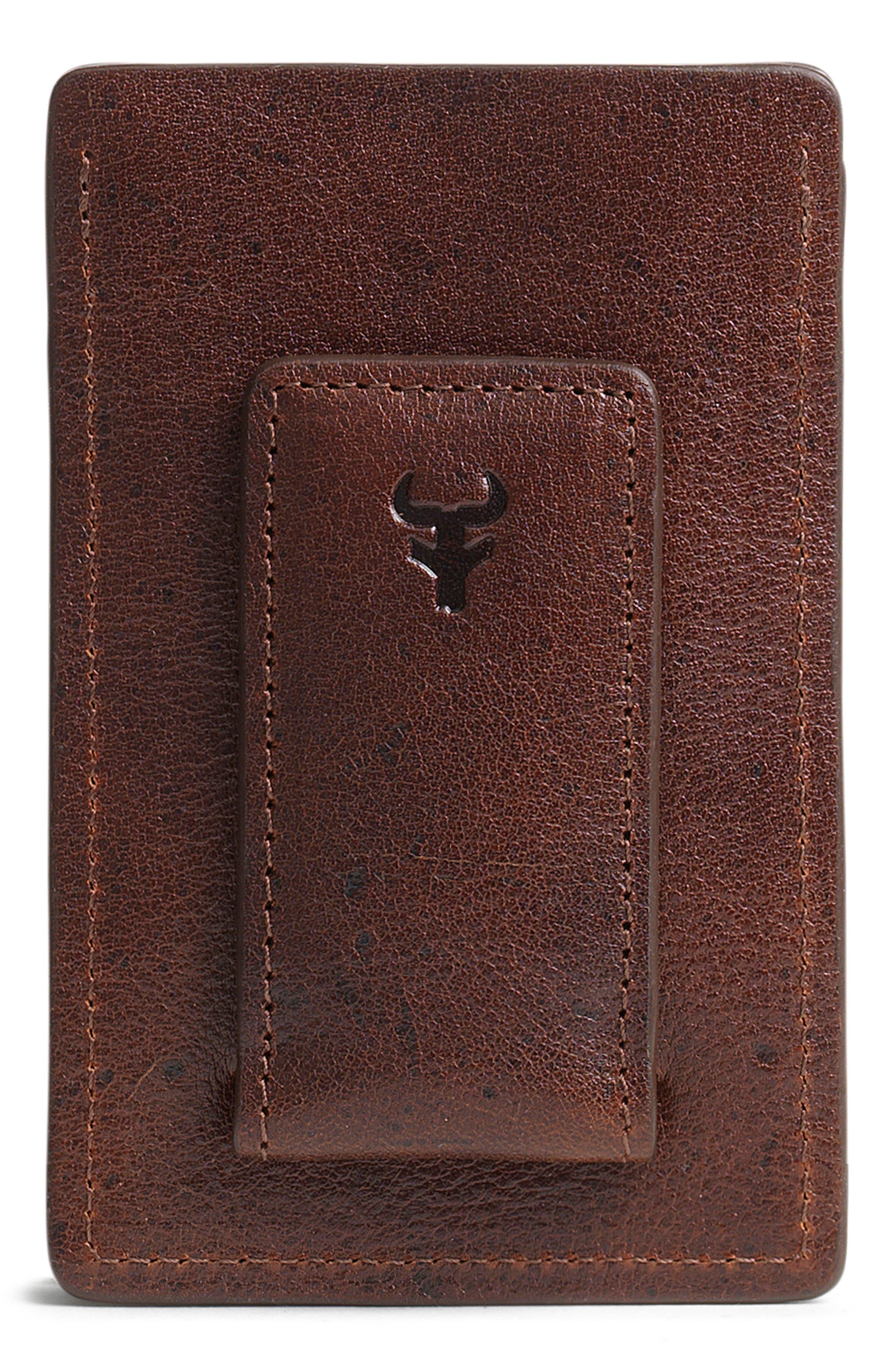 'Jackson' Money Clip Wallet,                             Alternate thumbnail 2, color,                             200