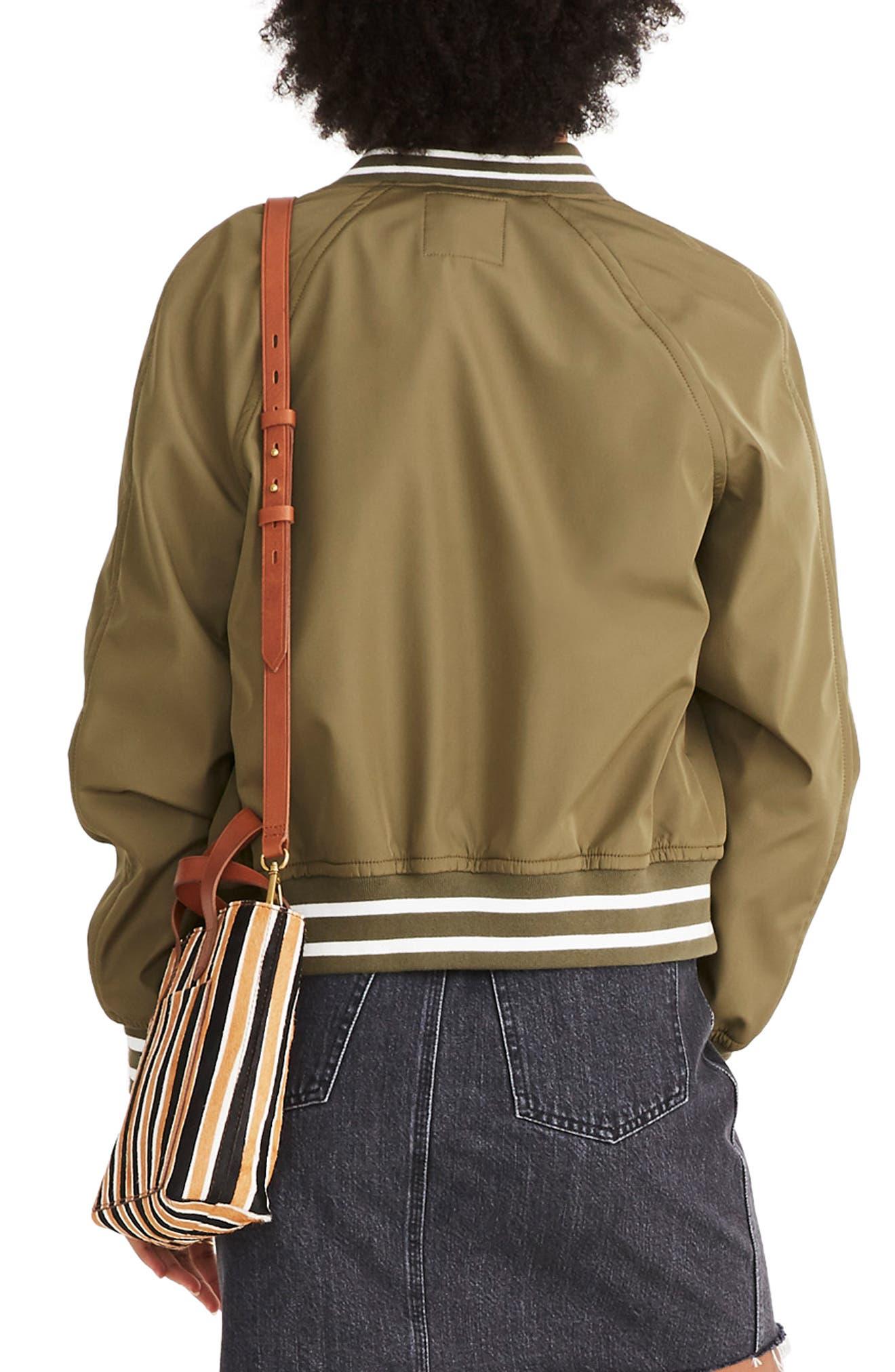 Madewell Varsity Bomber Jacket Nordstrom