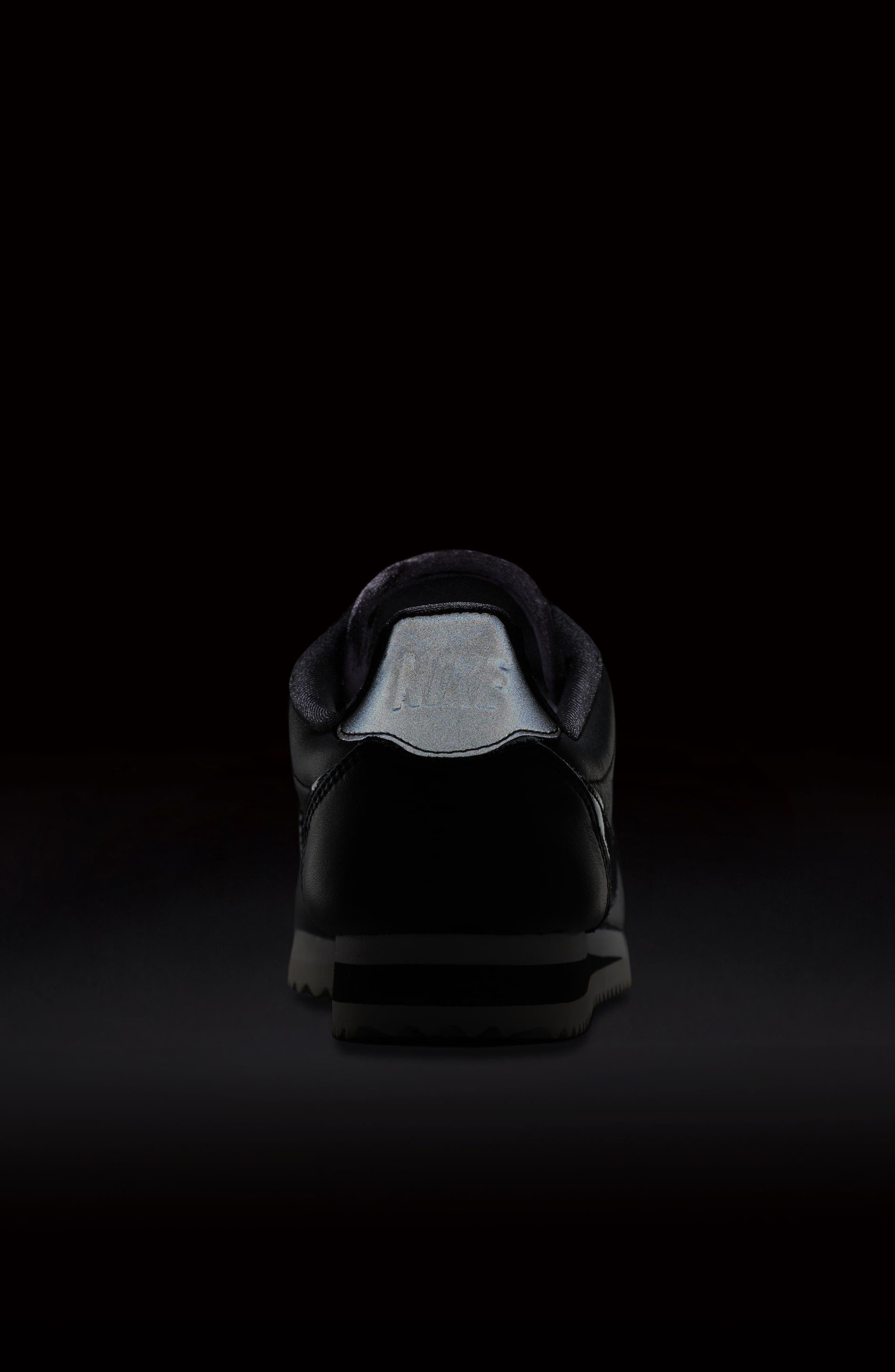 Classic Cortez SE Premium Sneaker,                             Alternate thumbnail 7, color,                             001