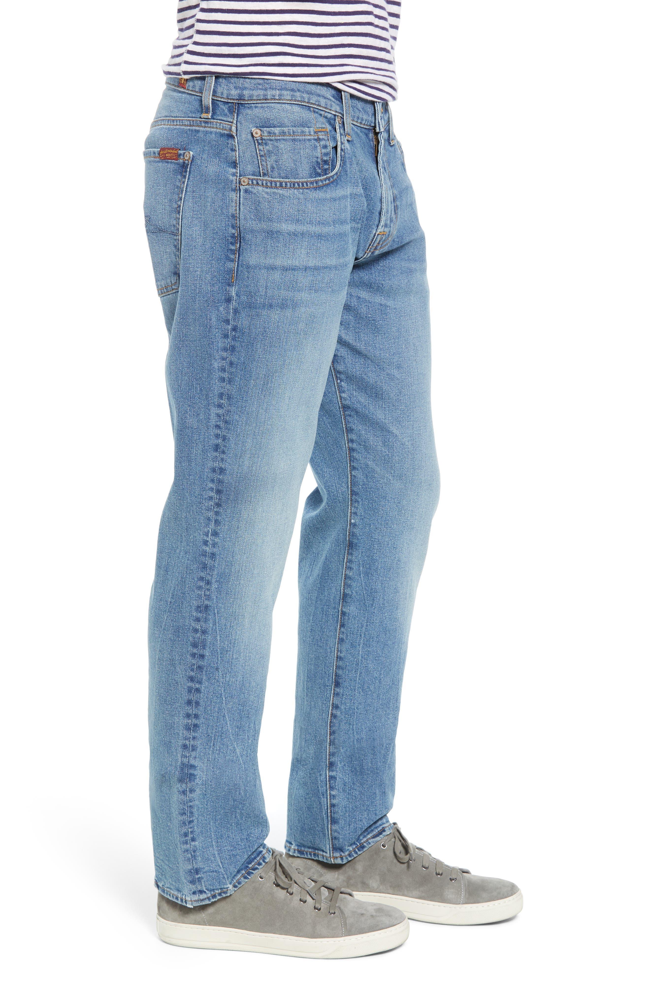 The Straight Slim Straight Leg Jeans,                             Alternate thumbnail 3, color,                             400