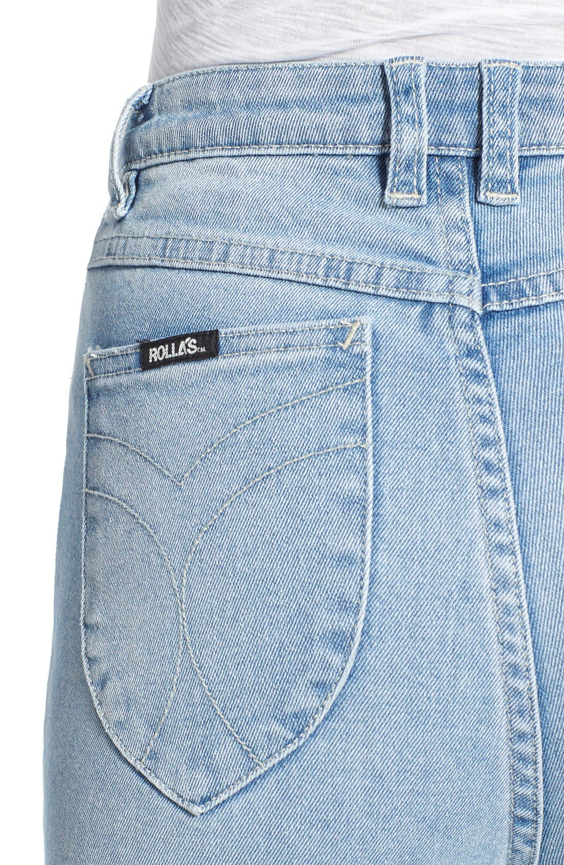 ROLLA'S,                             'East Coast' Flare Jeans,                             Alternate thumbnail 4, color,                             430