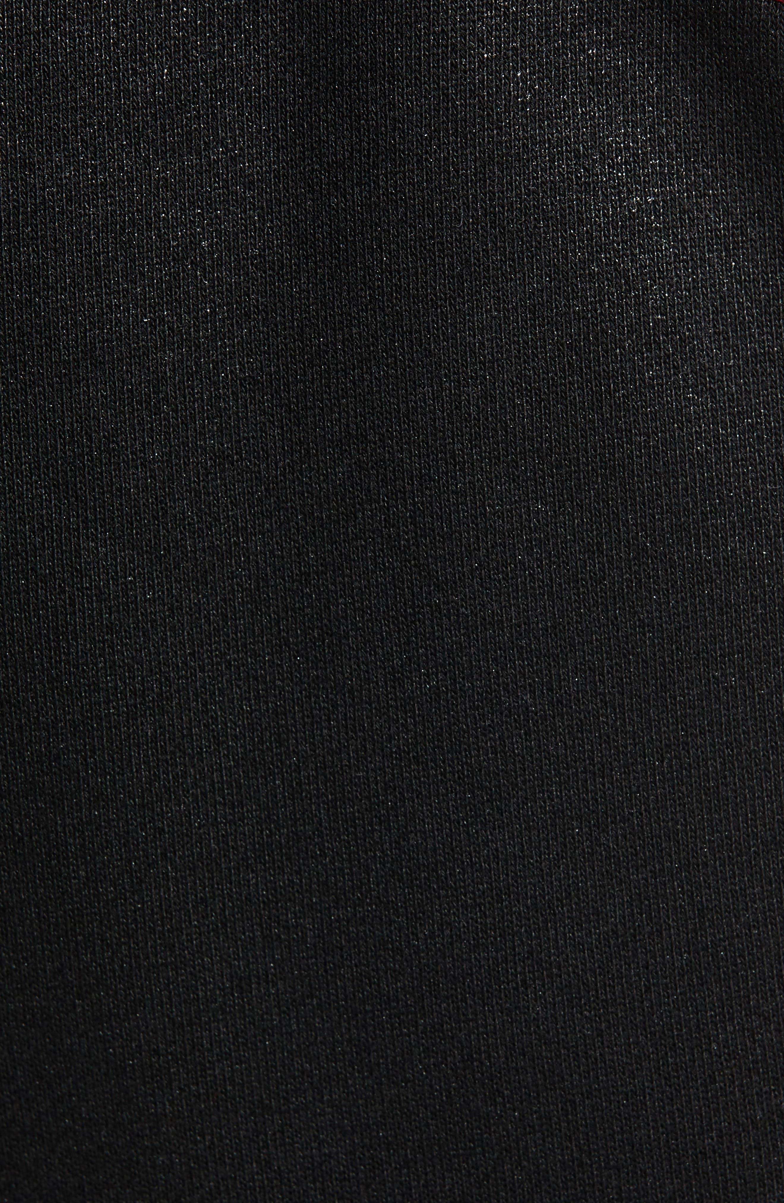 Moto Active Sweatpants,                             Alternate thumbnail 5, color,                             TRUE BLACK