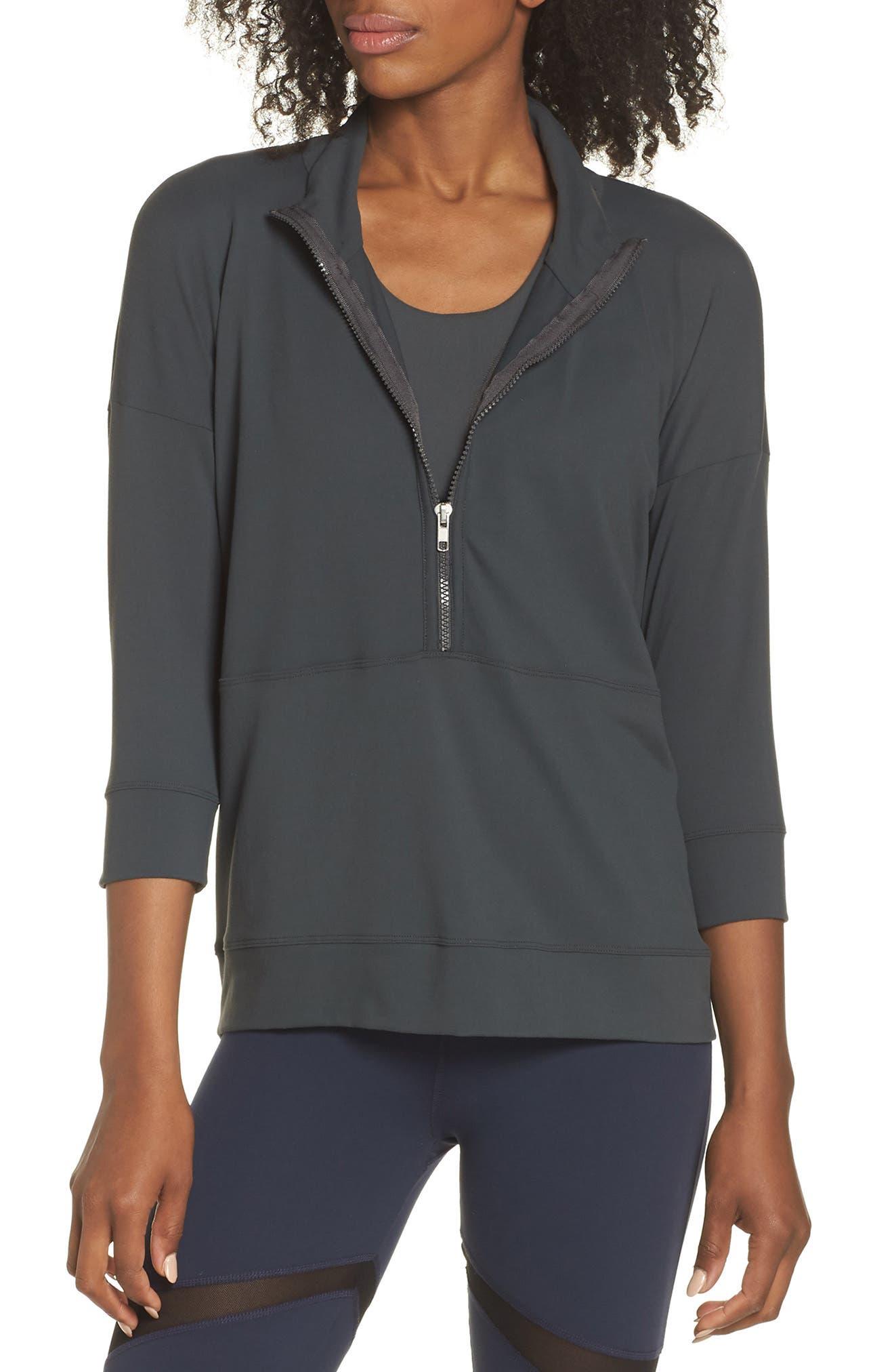 BoomBoom Athletica Novelty Eye Sweatshirt,                         Main,                         color, 020