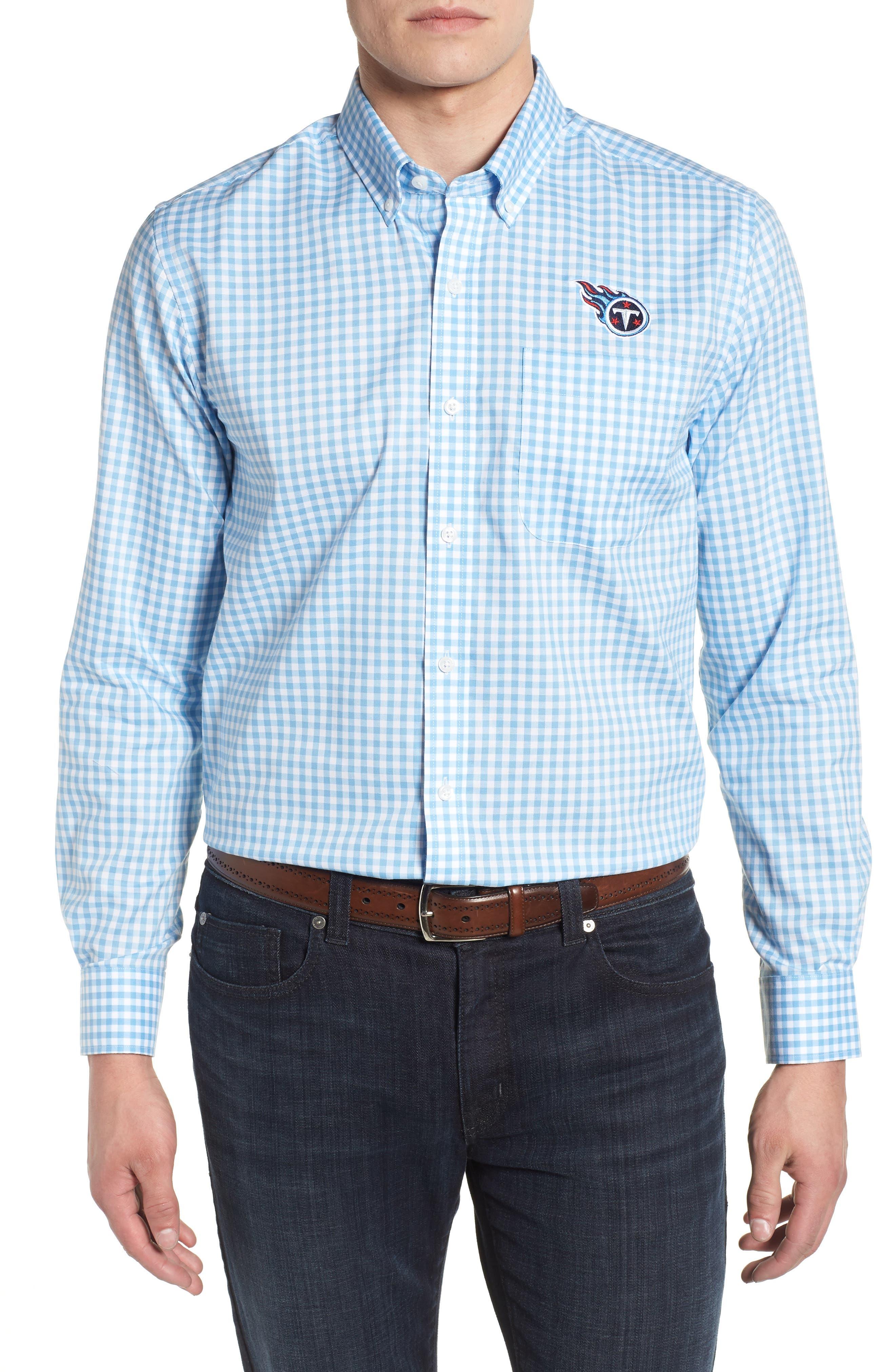 Tennessee Titans - League Regular Fit Sport Shirt,                         Main,                         color, ATLAS