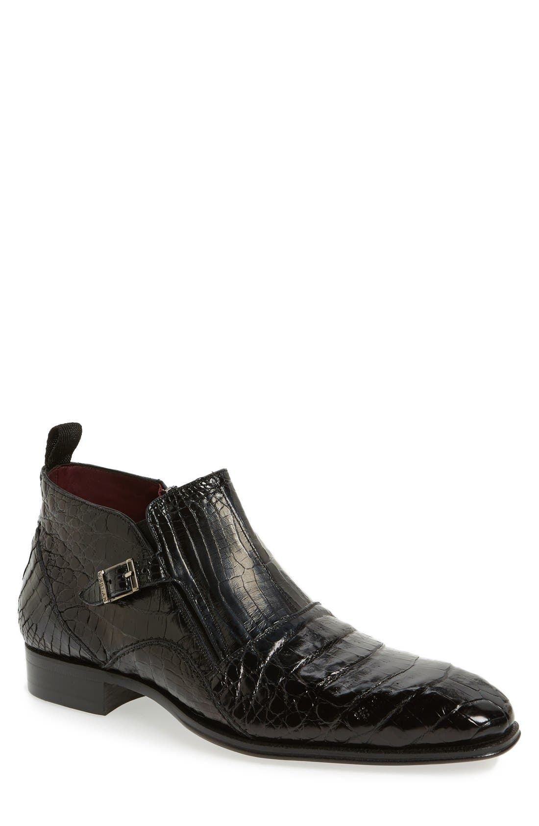 'Bene' Chelsea Boot,                             Main thumbnail 1, color,                             001