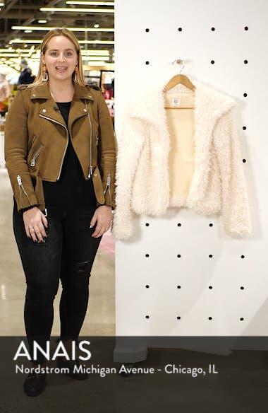 Fur Keeps Faux Fur Crop Jacket, sales video thumbnail