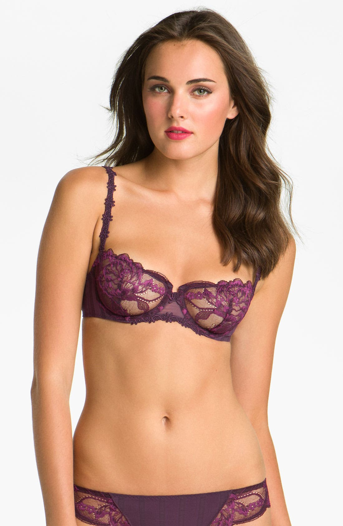 'Amour' Underwire Demi Bra,                             Main thumbnail 8, color,