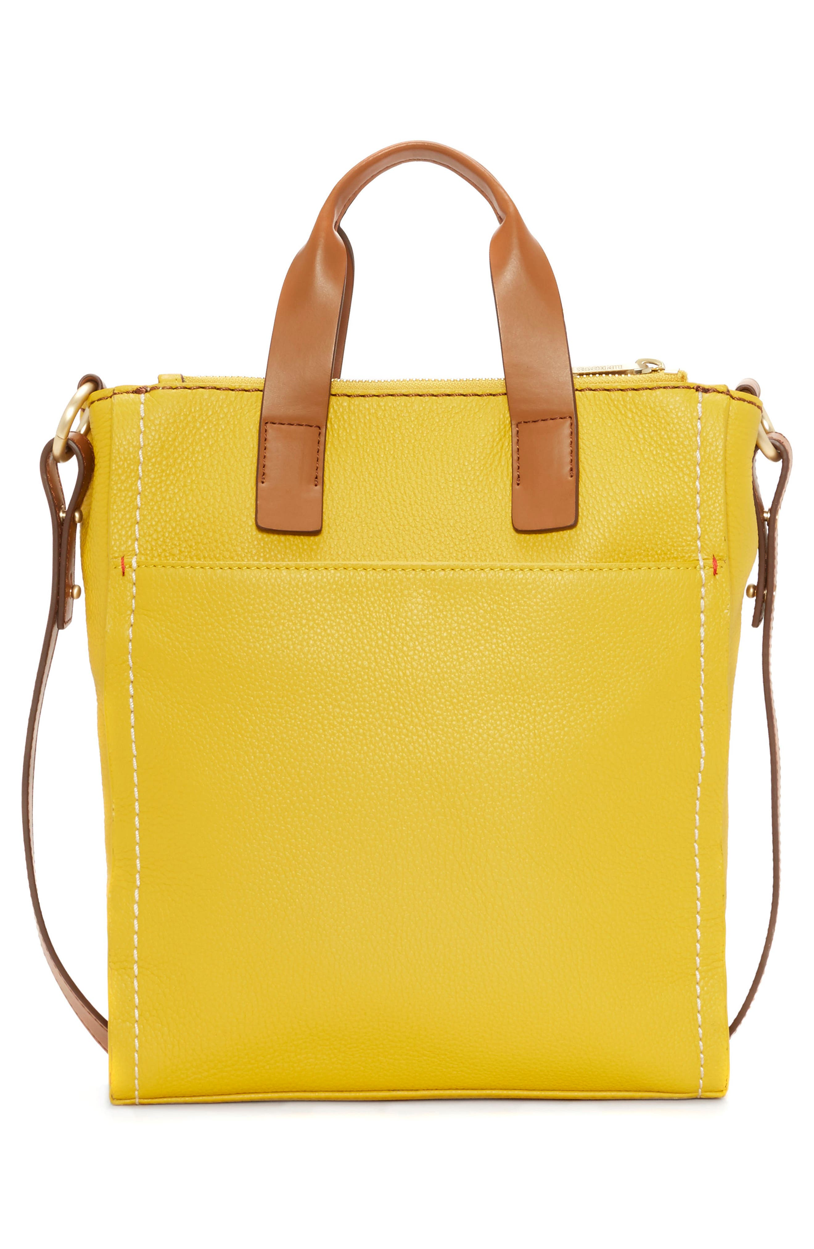 ED ELLEN DEGENERES,                             Small Baja Leather Tote,                             Alternate thumbnail 2, color,                             701