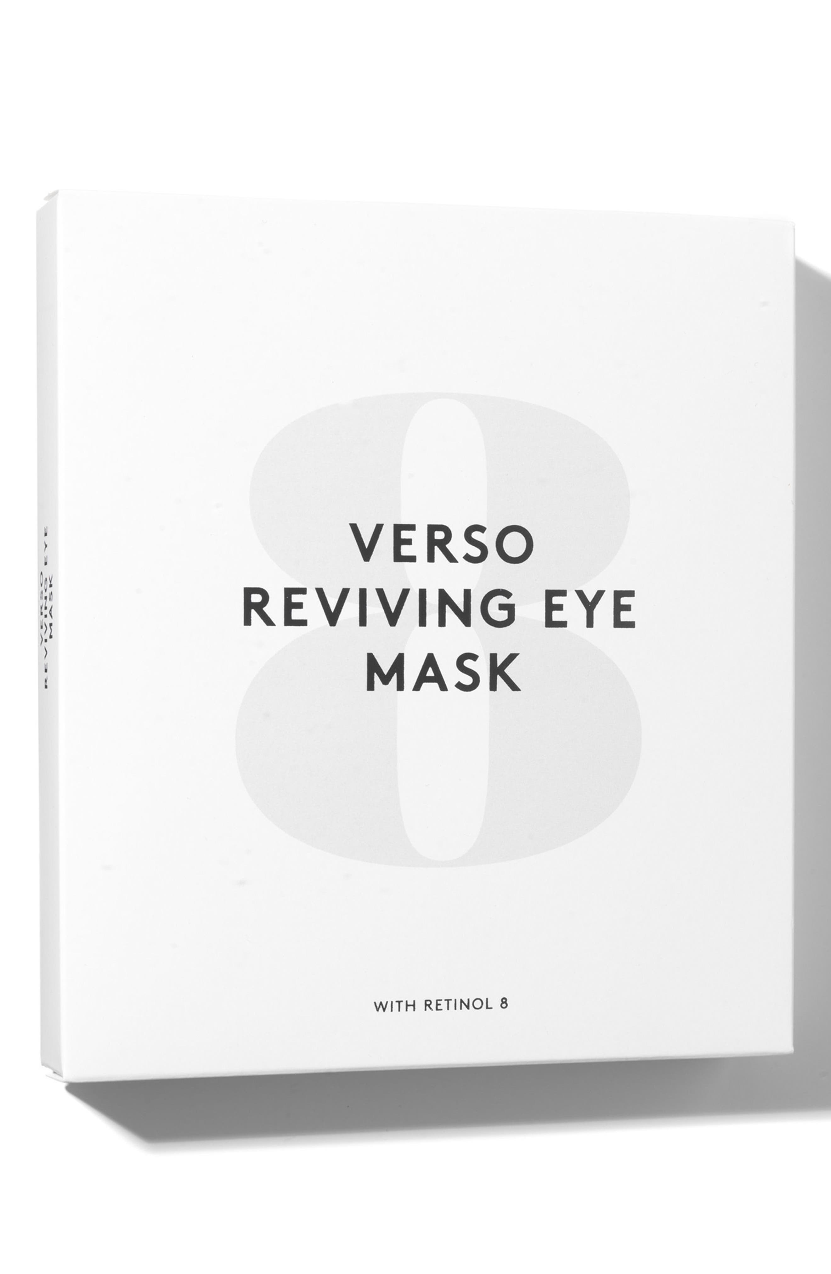 SPACE.NK.apothecary Verso Skincare Eye Reviving Mask,                             Alternate thumbnail 2, color,
