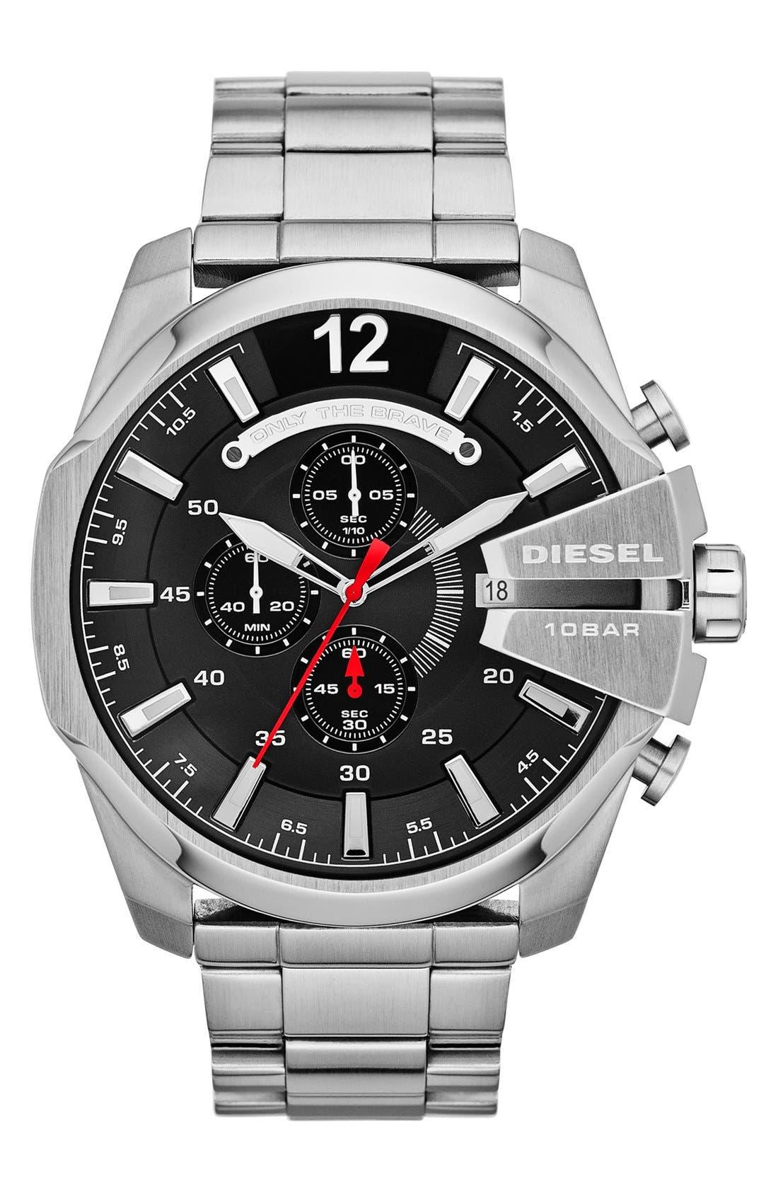 'Mega Chief' Bracelet Watch, 51mm,                             Main thumbnail 6, color,