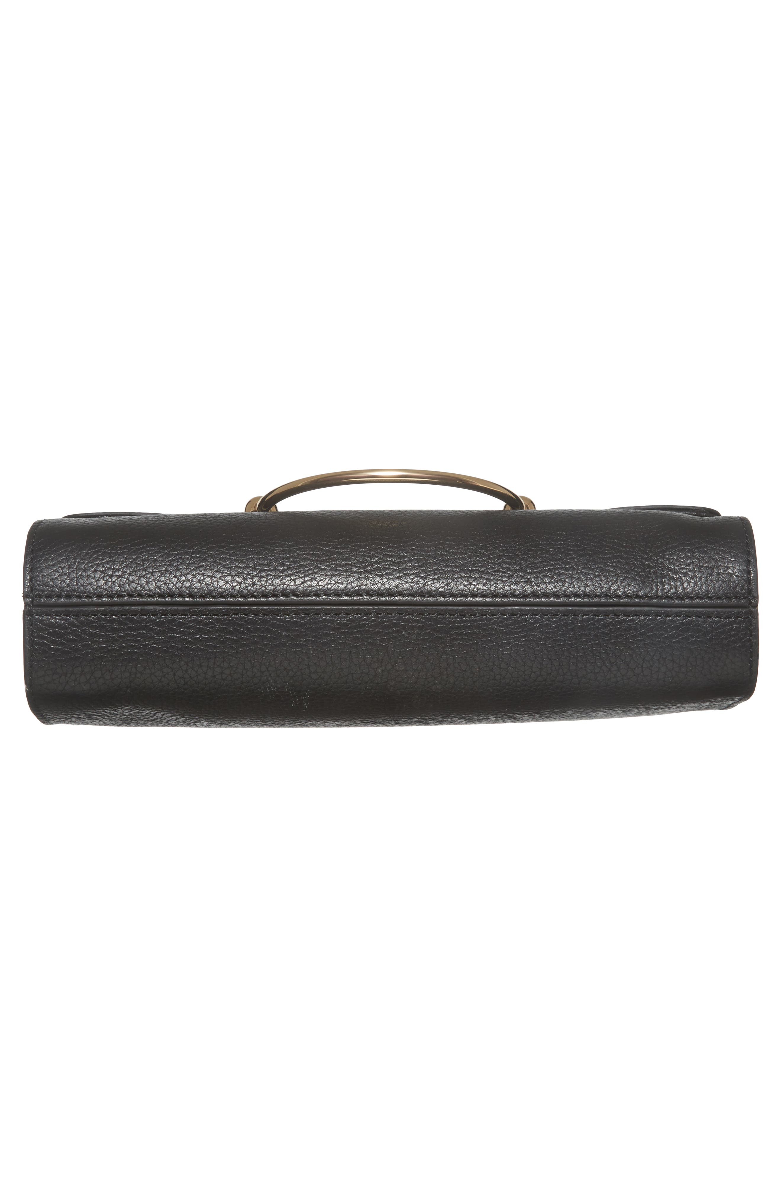Astor Pebbled Leather Flap Clutch,                             Alternate thumbnail 21, color,