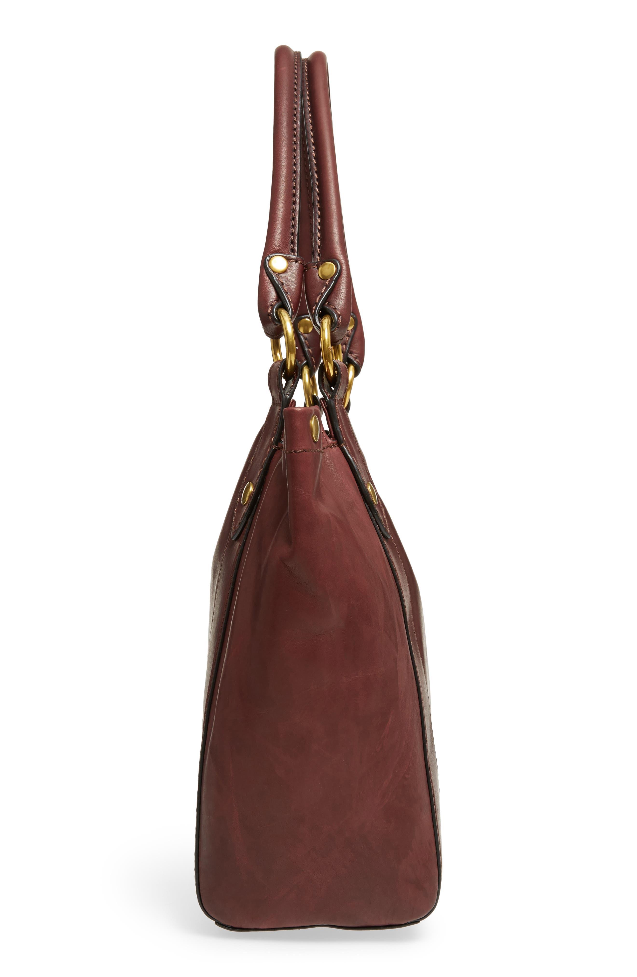 Melissa Leather Shoulder Bag,                             Alternate thumbnail 15, color,