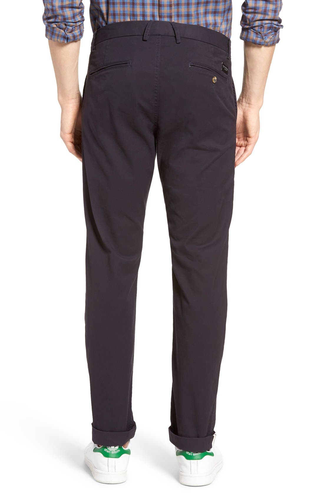 Slim Fit Stretch Chinos,                             Alternate thumbnail 59, color,