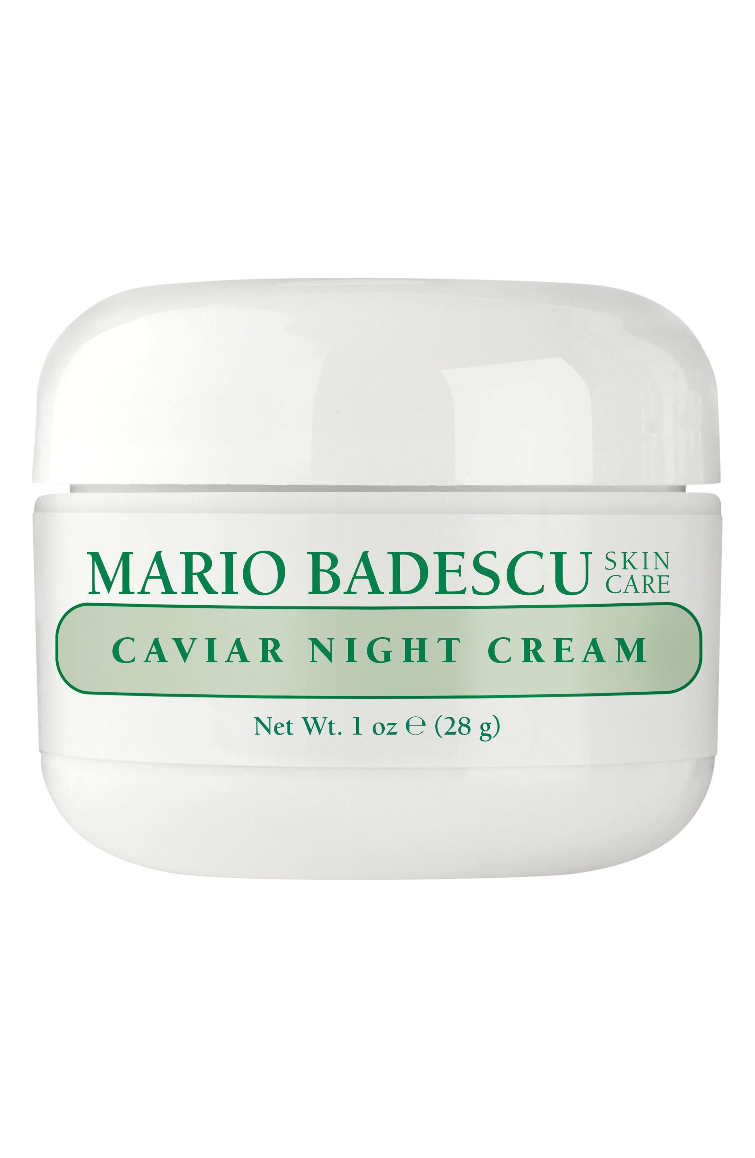 MARIO BADESCU,                             Caviar Night Cream,                             Main thumbnail 1, color,                             NO COLOR