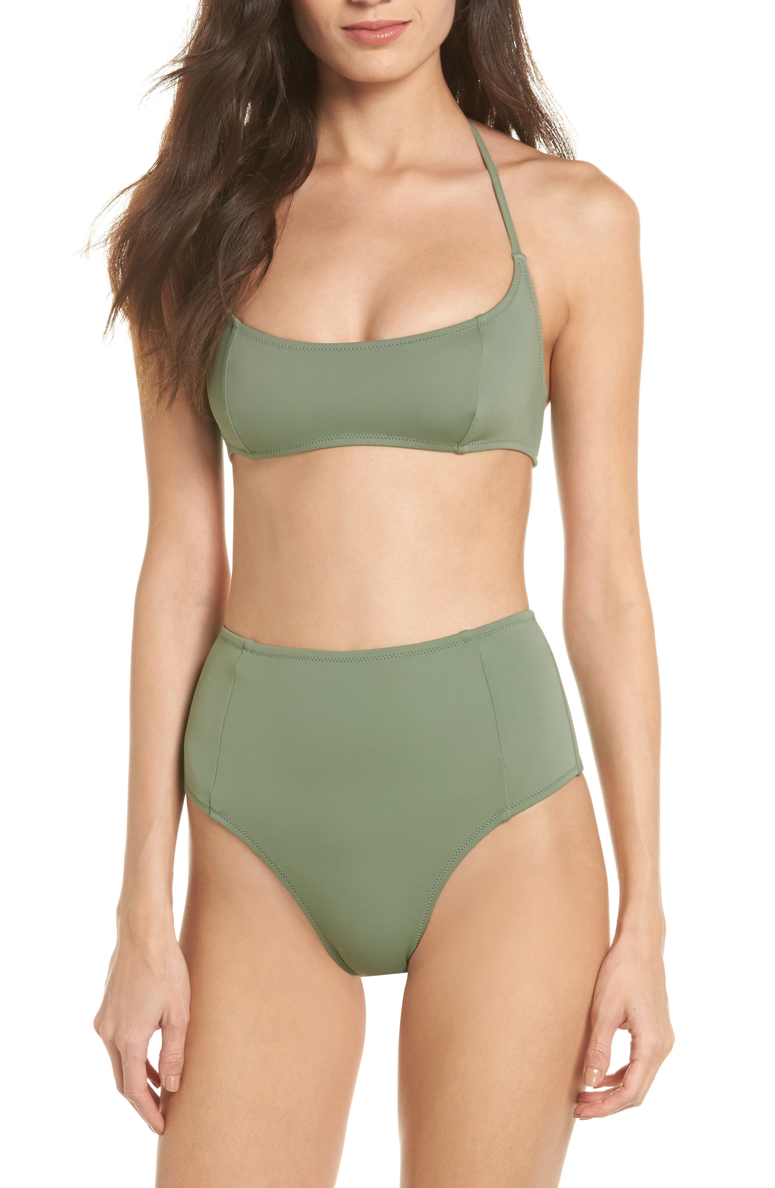 SOLID & STRIPED,                             The Jessica High Waist Bikini Bottoms,                             Alternate thumbnail 7, color,                             339
