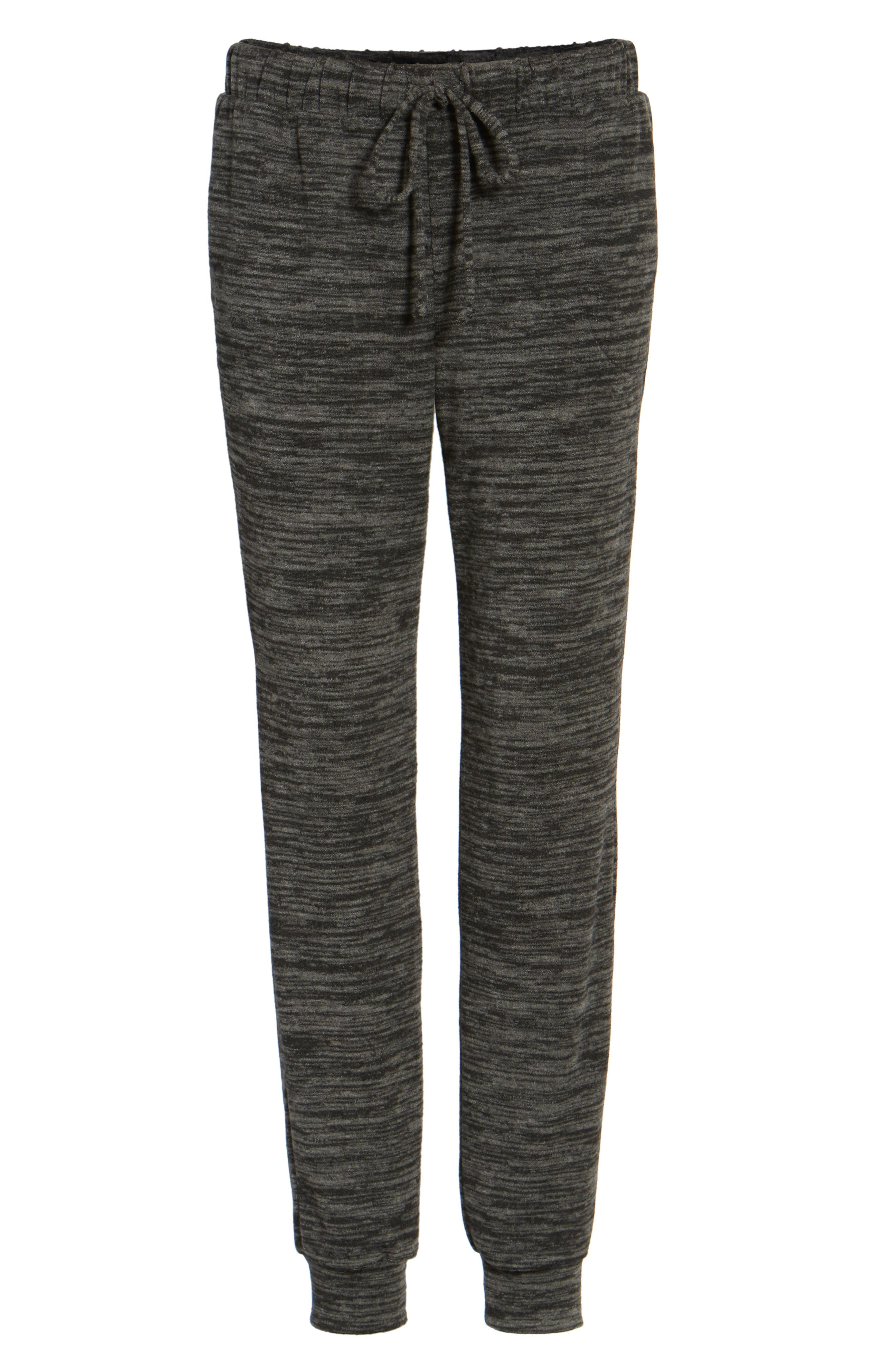 Cozy Jogger Pants,                             Alternate thumbnail 6, color,                             001