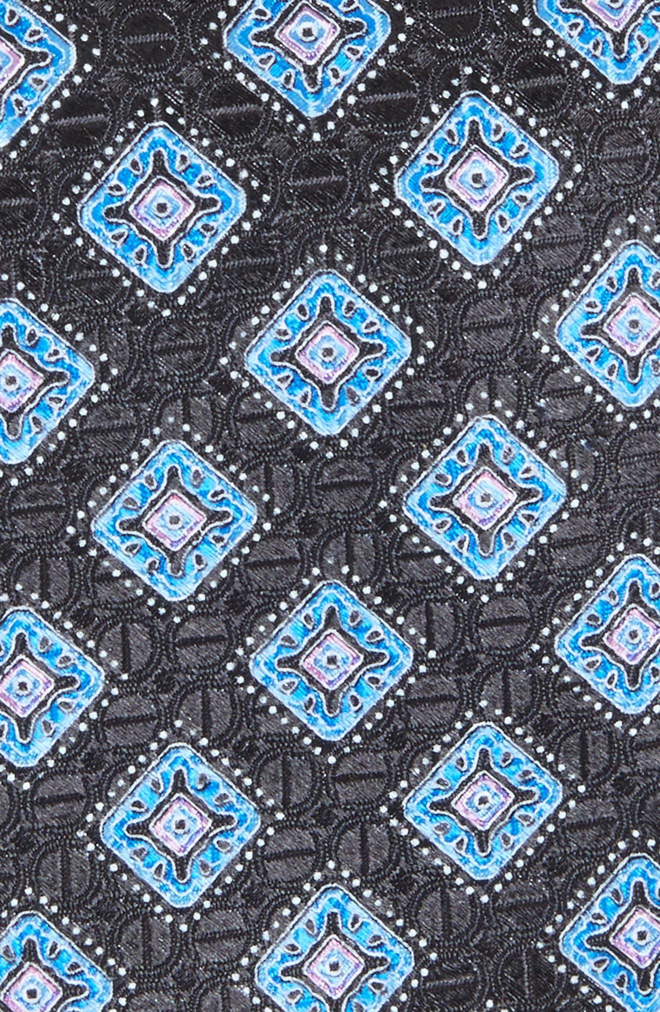 Sanders Neat Silk Tie,                             Alternate thumbnail 2, color,                             001
