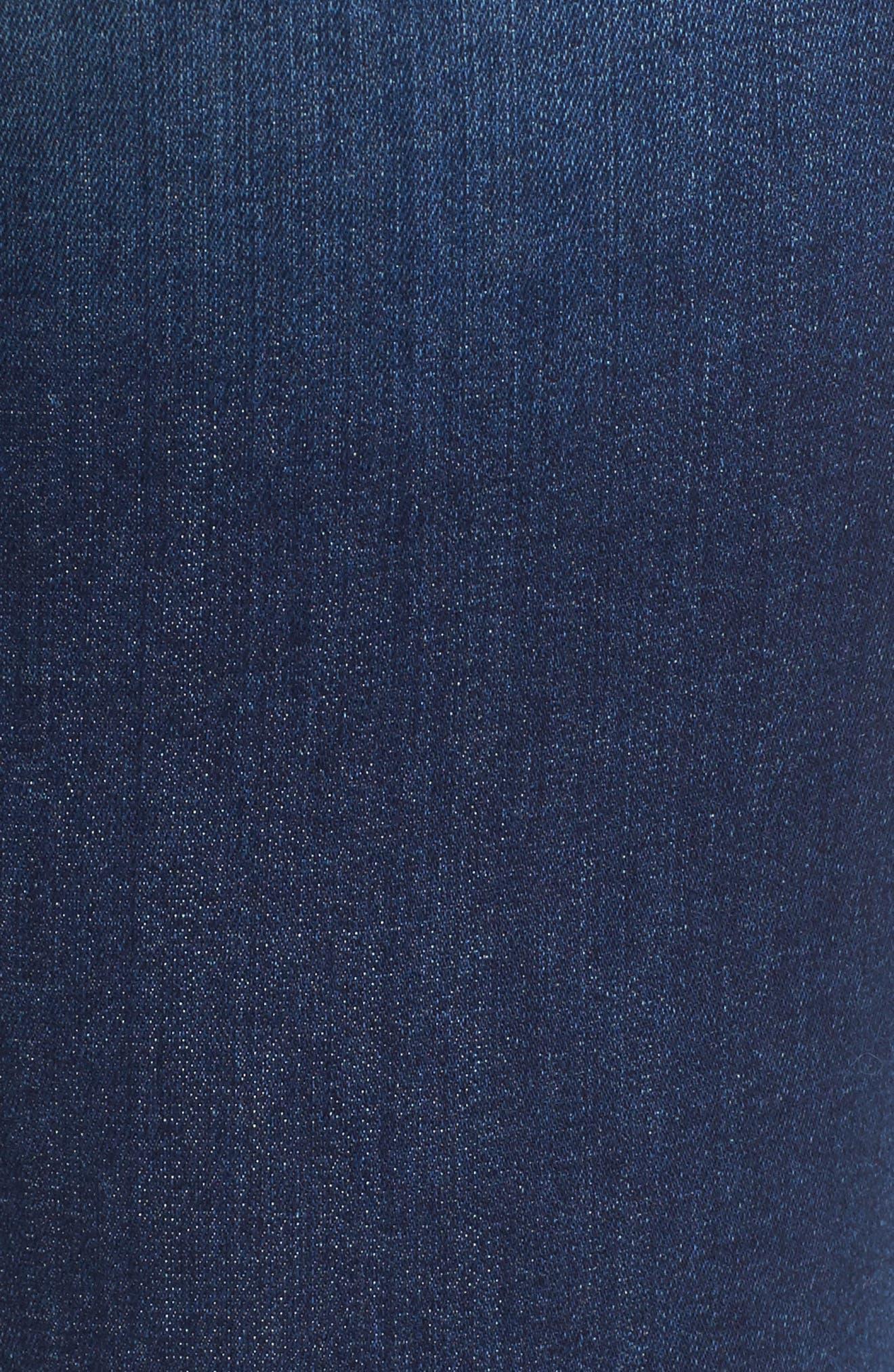 Release Hem Skinny Ankle Jeans,                             Alternate thumbnail 5, color,                             401