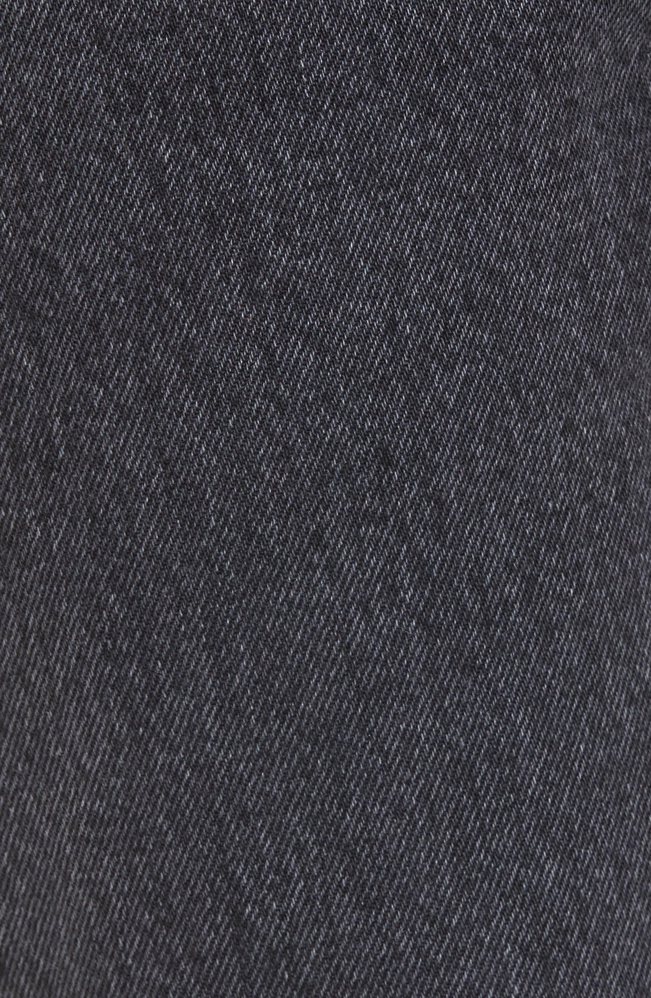 Fit 2 Slim Fit Jeans,                             Alternate thumbnail 5, color,                             001