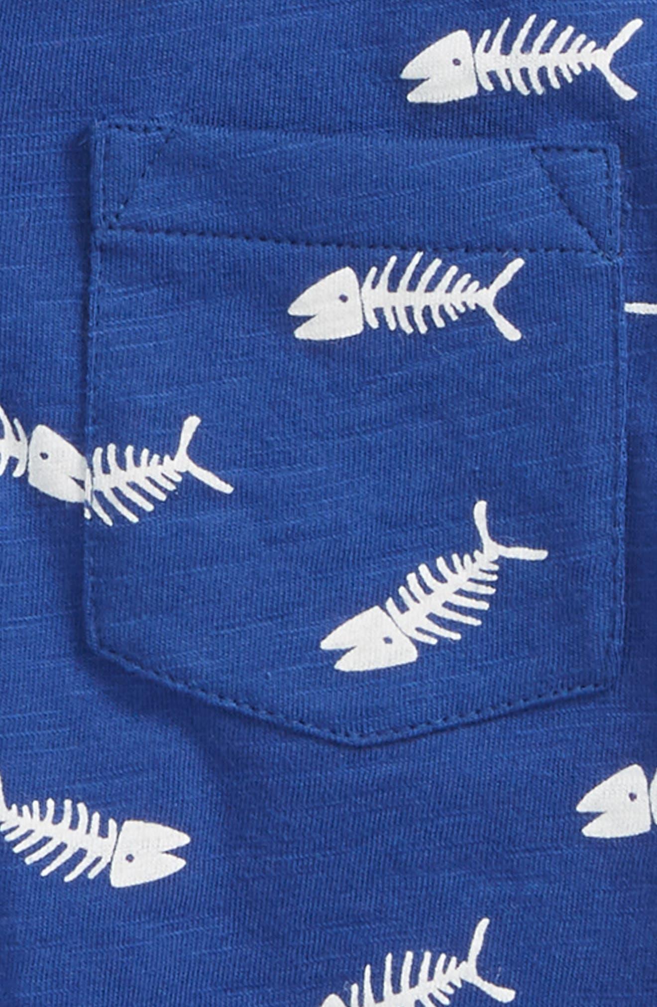 Fish Print Polo,                             Alternate thumbnail 2, color,                             404