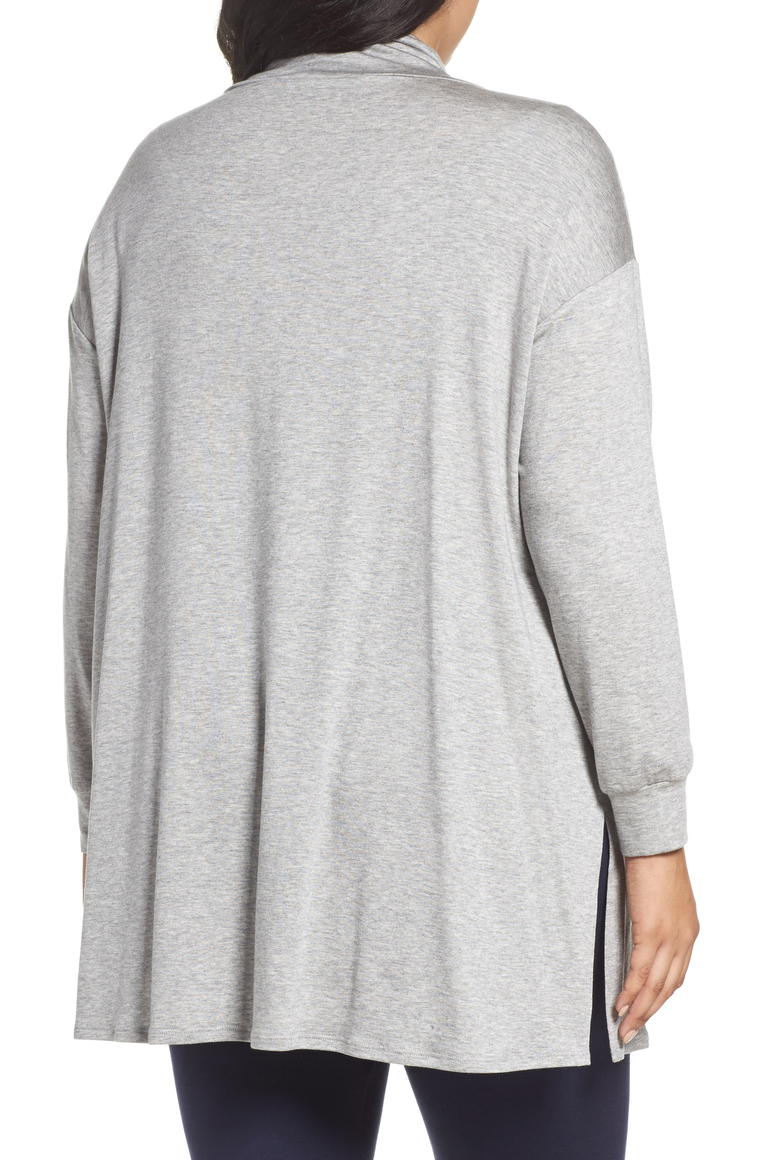 Funnel Neck Jersey Tunic,                             Alternate thumbnail 5, color,