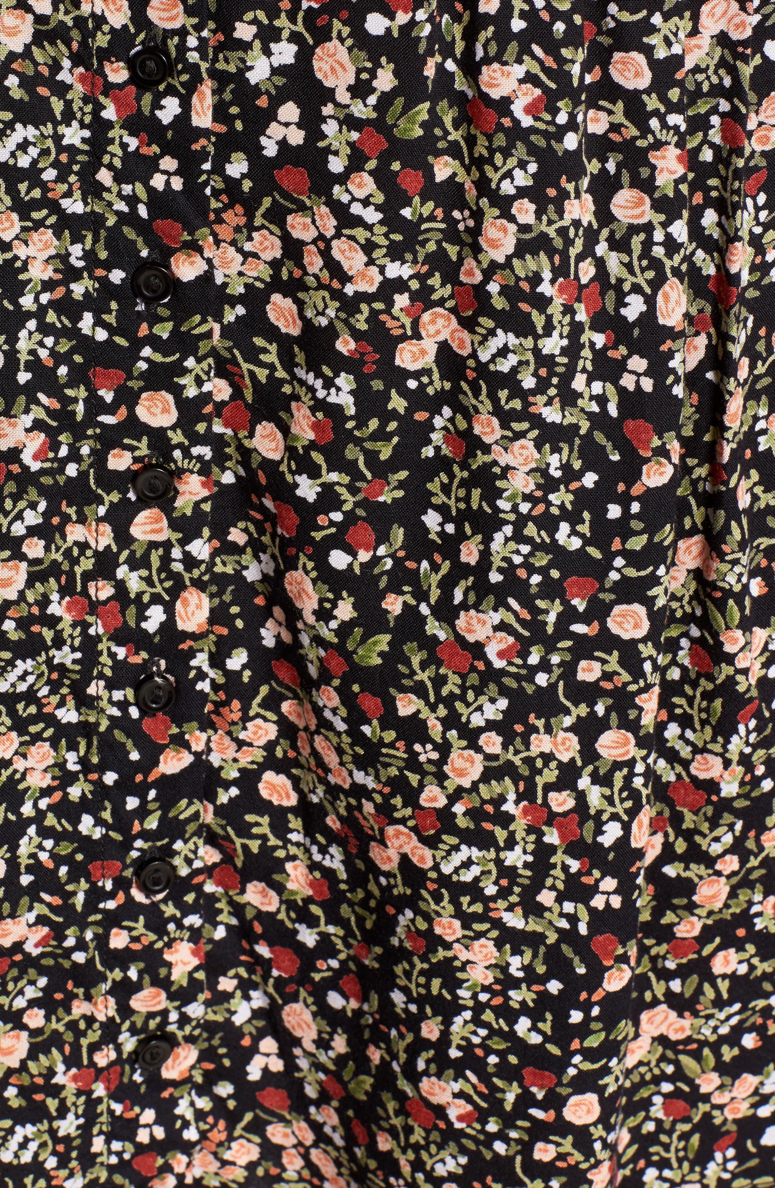 Chase Knot Back Dress,                             Alternate thumbnail 5, color,