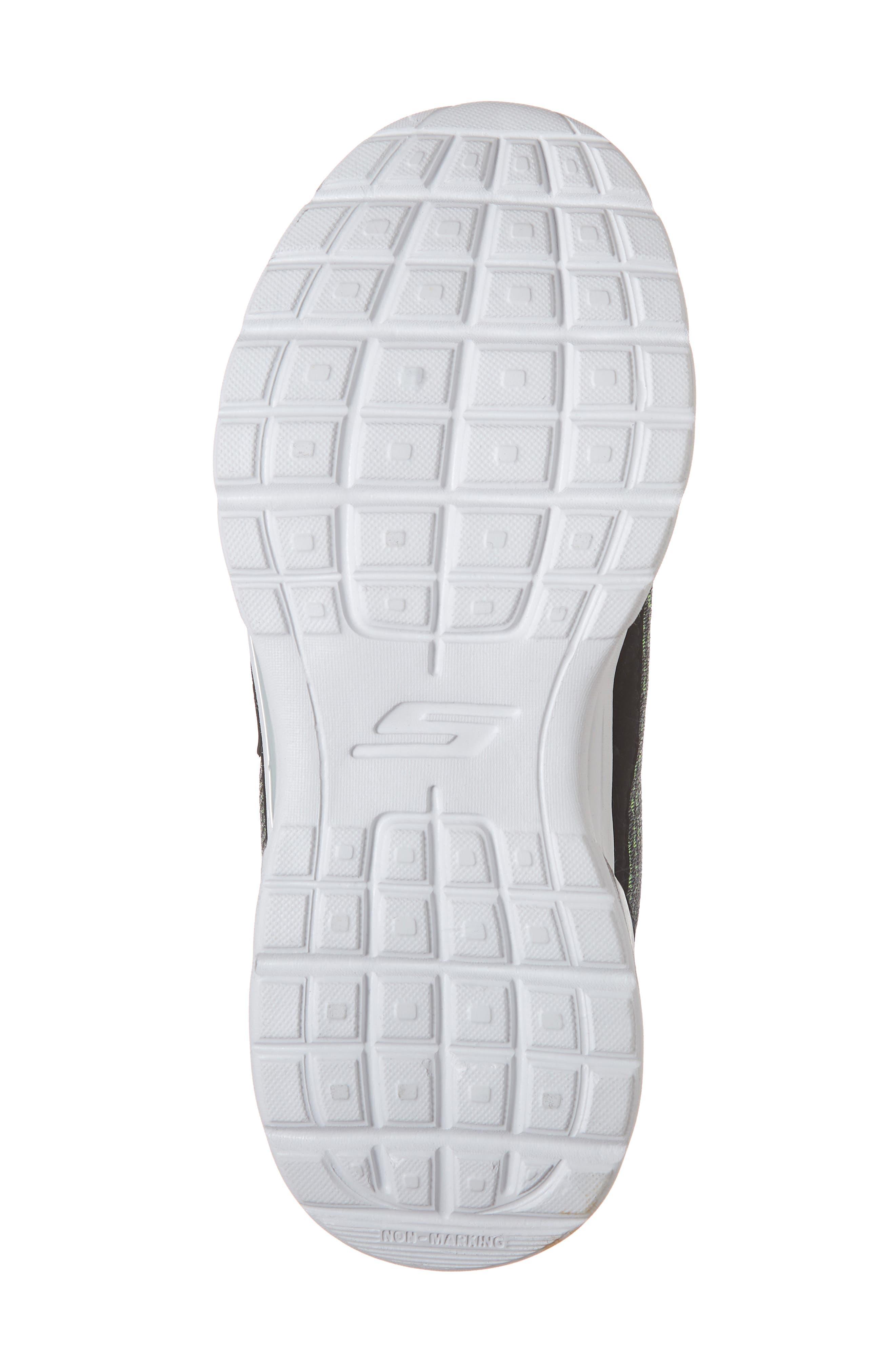 Luminators Sneaker,                             Alternate thumbnail 6, color,                             BLACK/ LIME