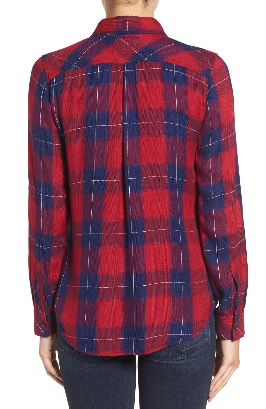 Hunter Plaid Shirt,                             Alternate thumbnail 401, color,