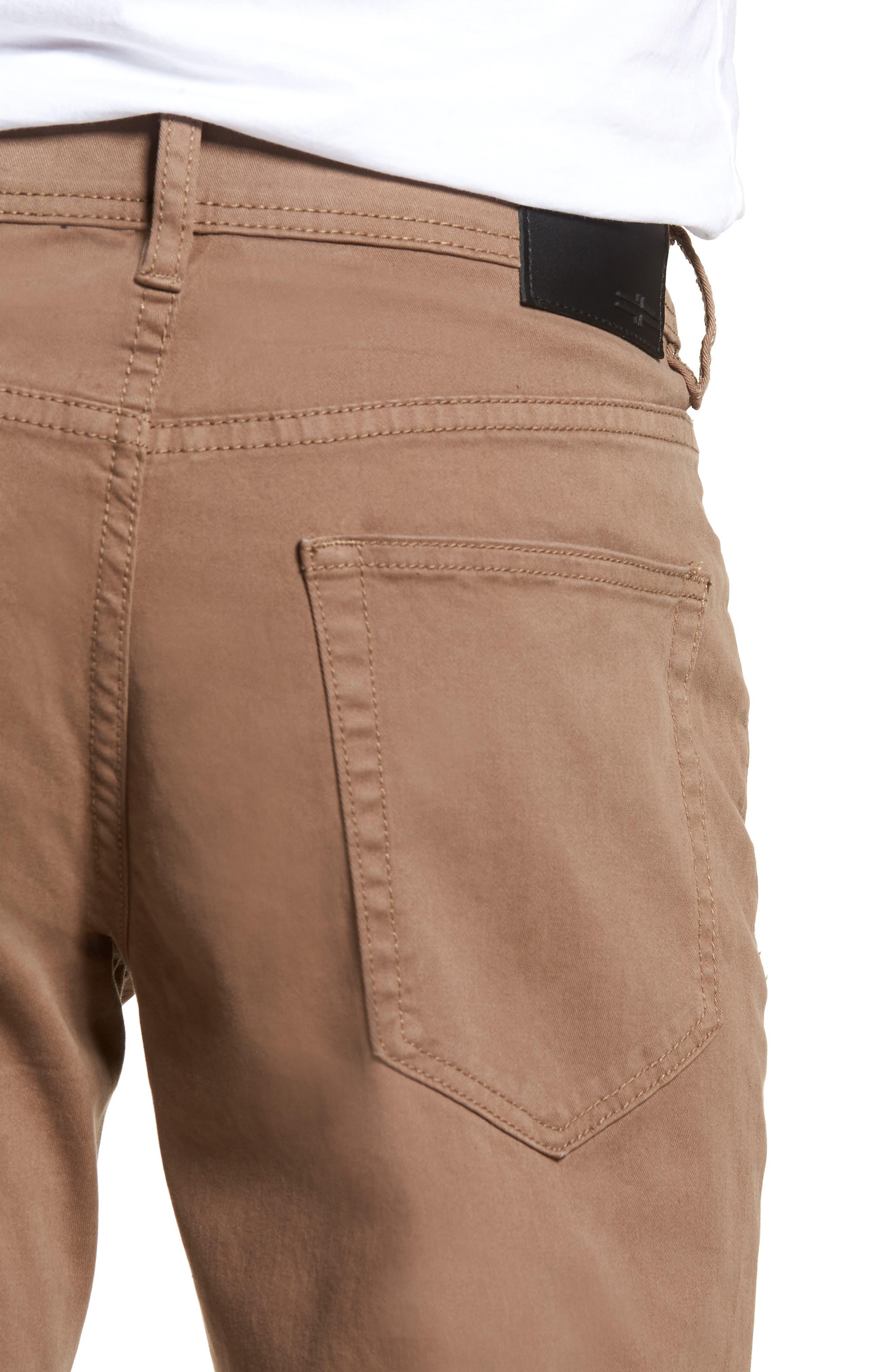 Jeans Co. Kingston Slim Straight Leg Jeans,                             Alternate thumbnail 4, color,                             CUB