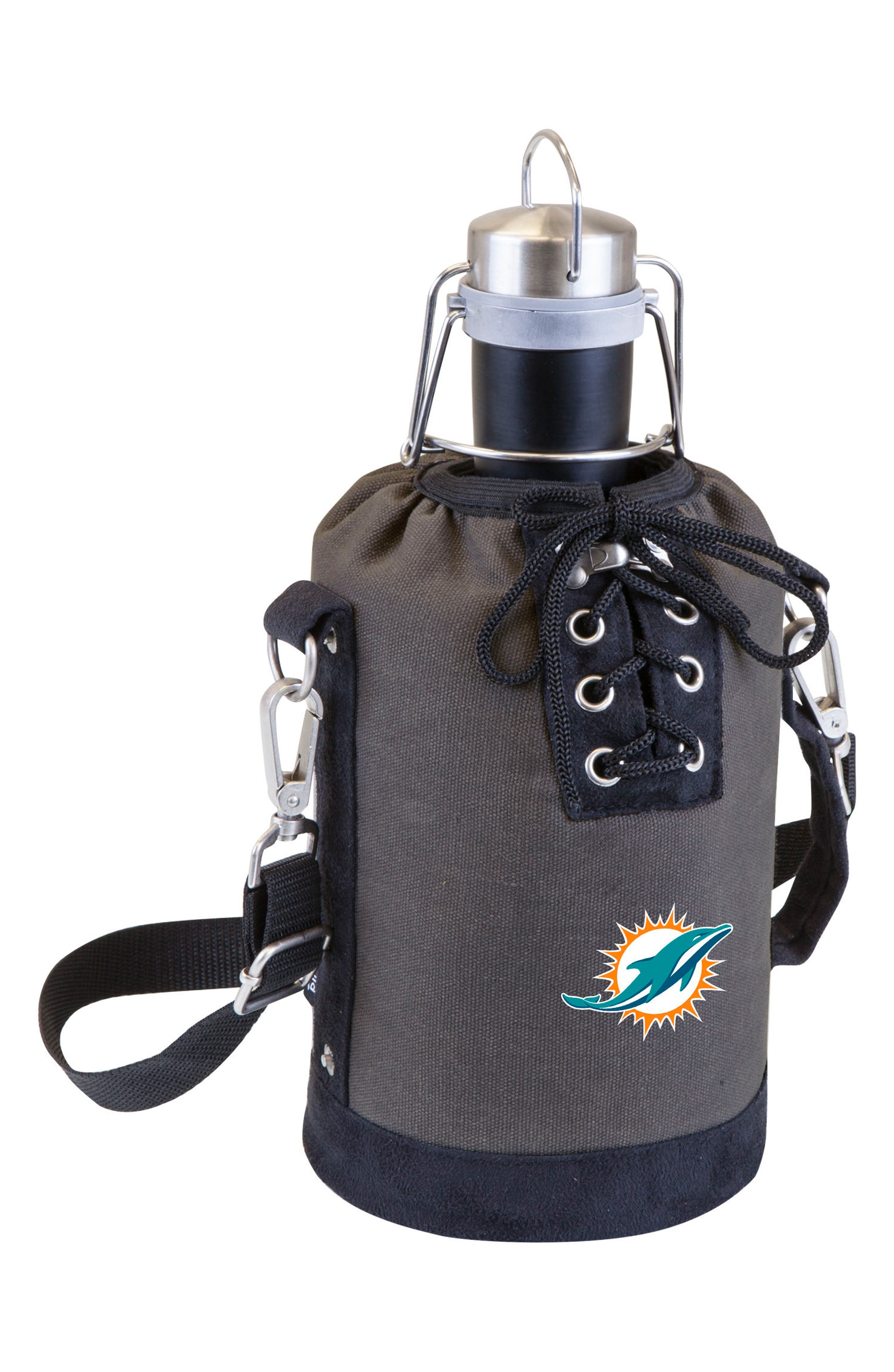 NFL Team Logo Tote & Stainless Steel Growler,                             Main thumbnail 17, color,