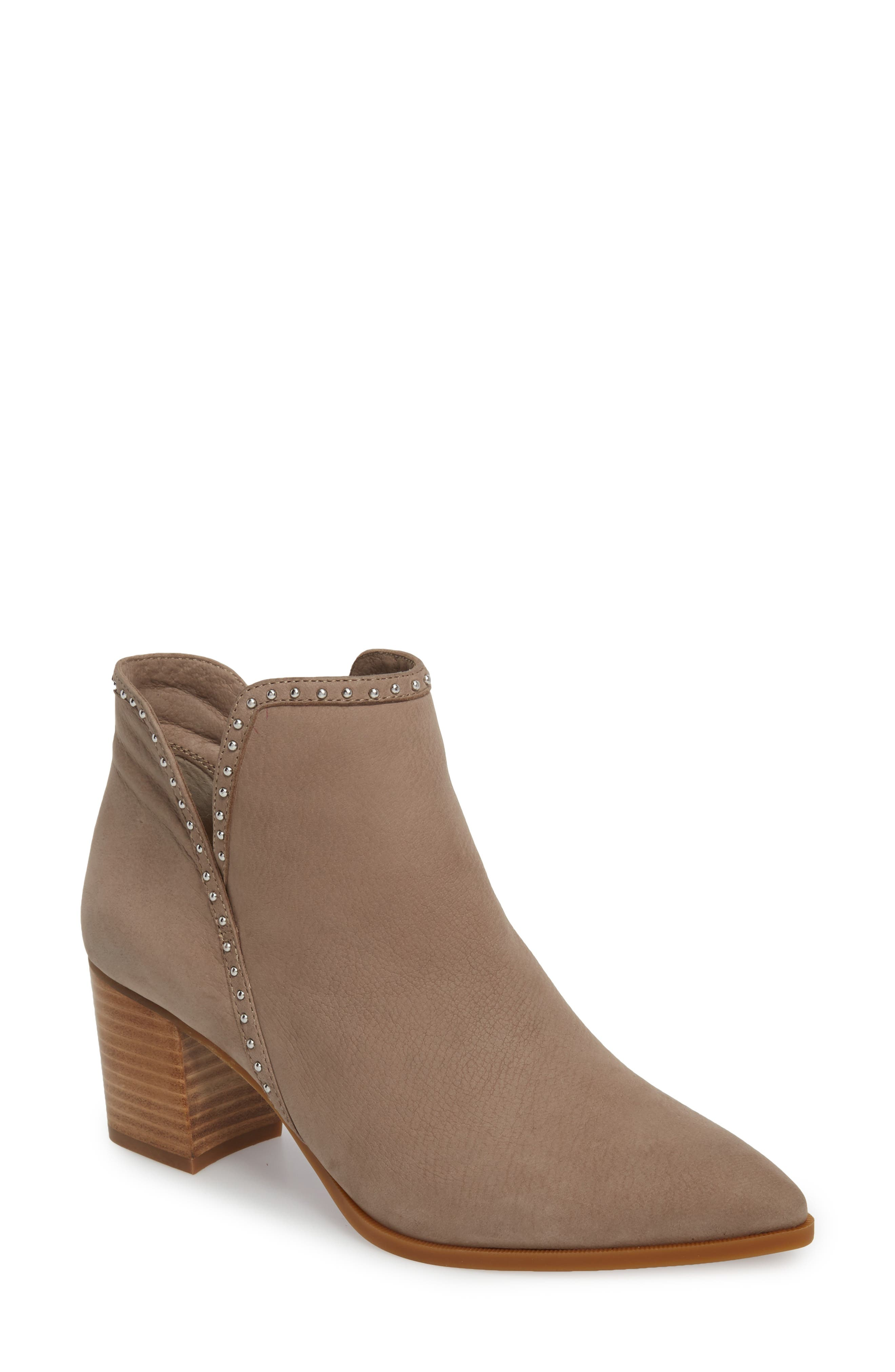 Sole Society Dalphine Bootie- Brown