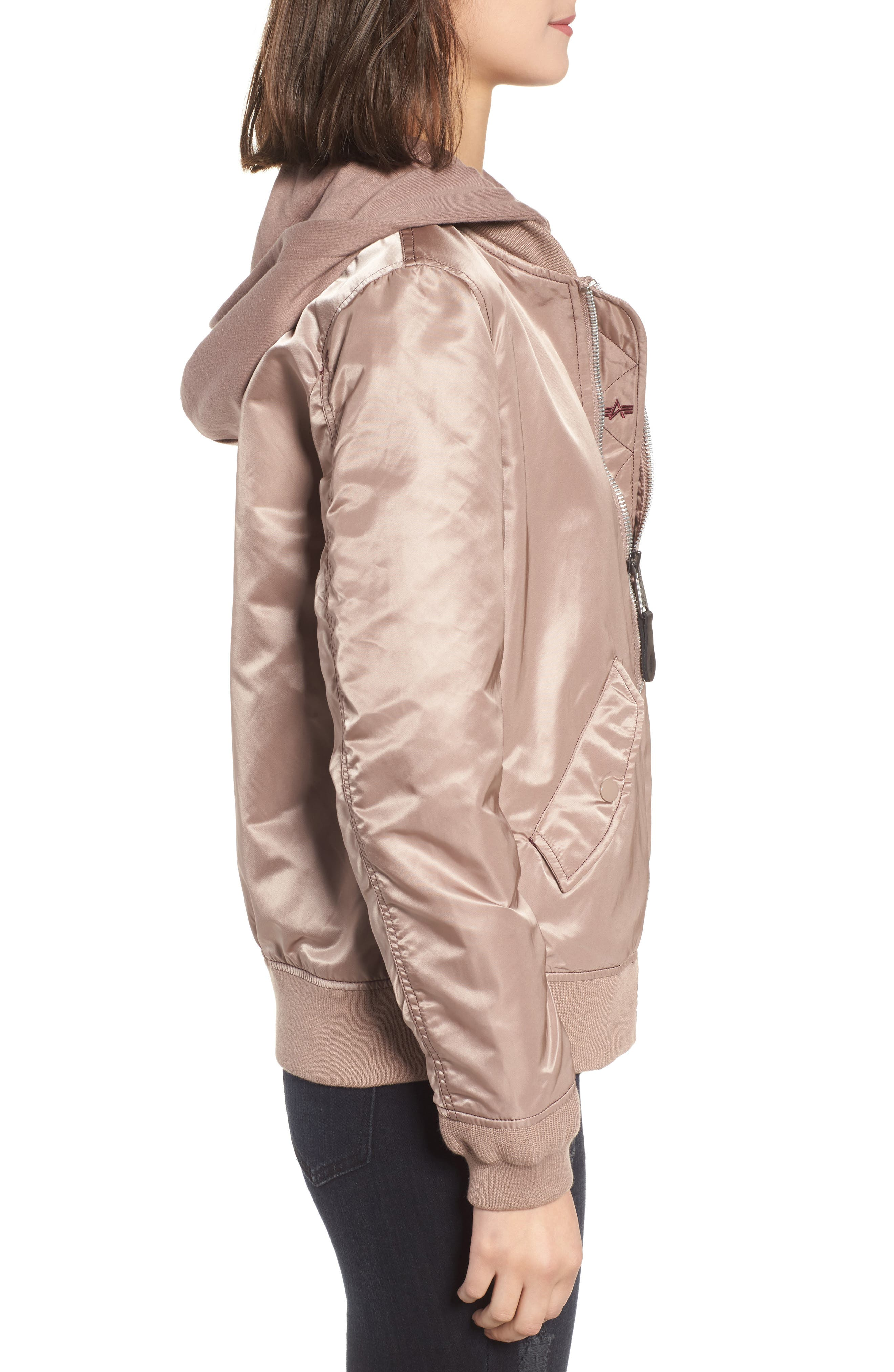 L-2B Natus Flight Jacket,                             Alternate thumbnail 7, color,