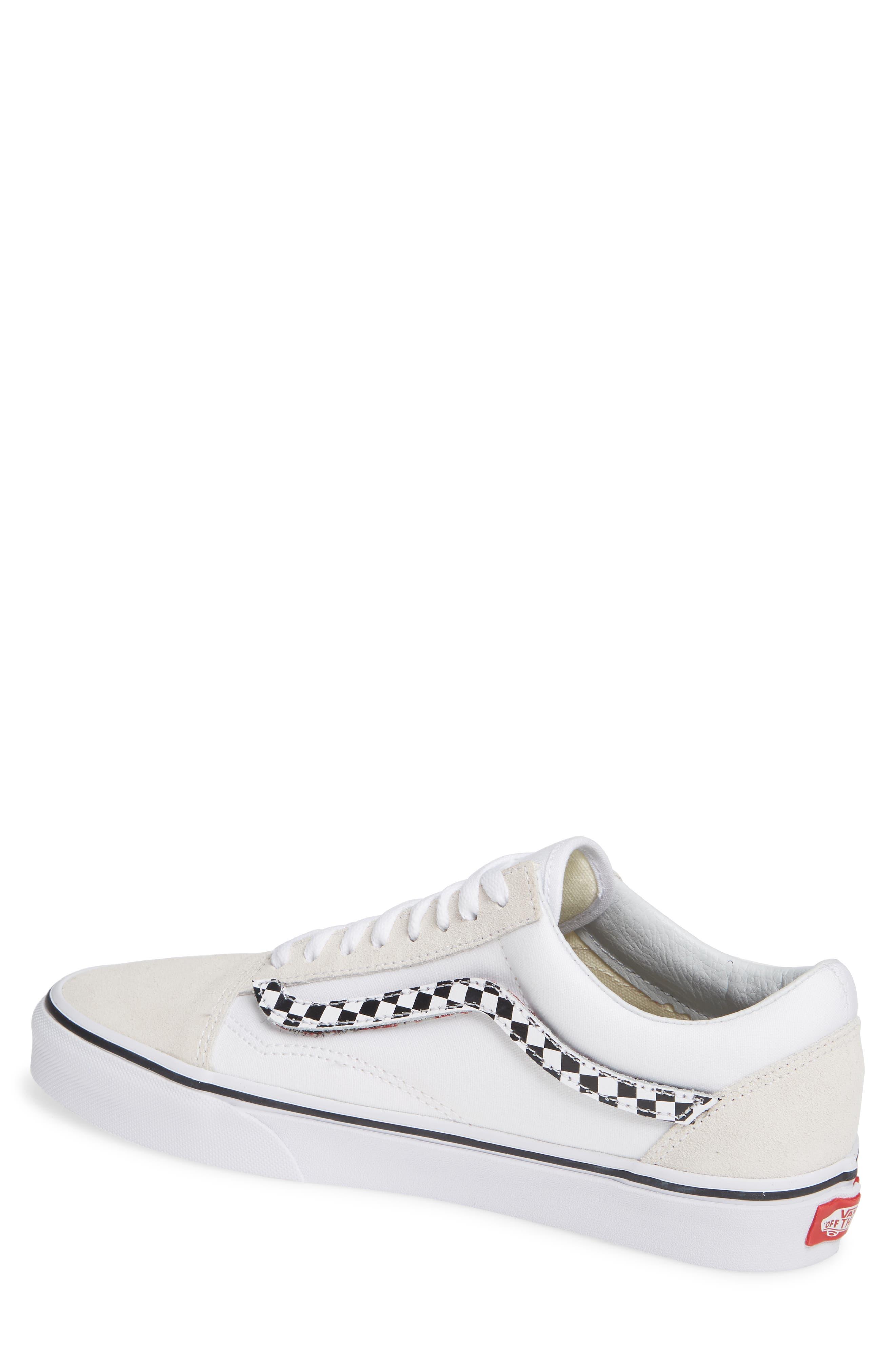 VANS,                             Old Skool Sneaker,                             Alternate thumbnail 2, color,                             TRUE WHITE/ TRUE WHITE
