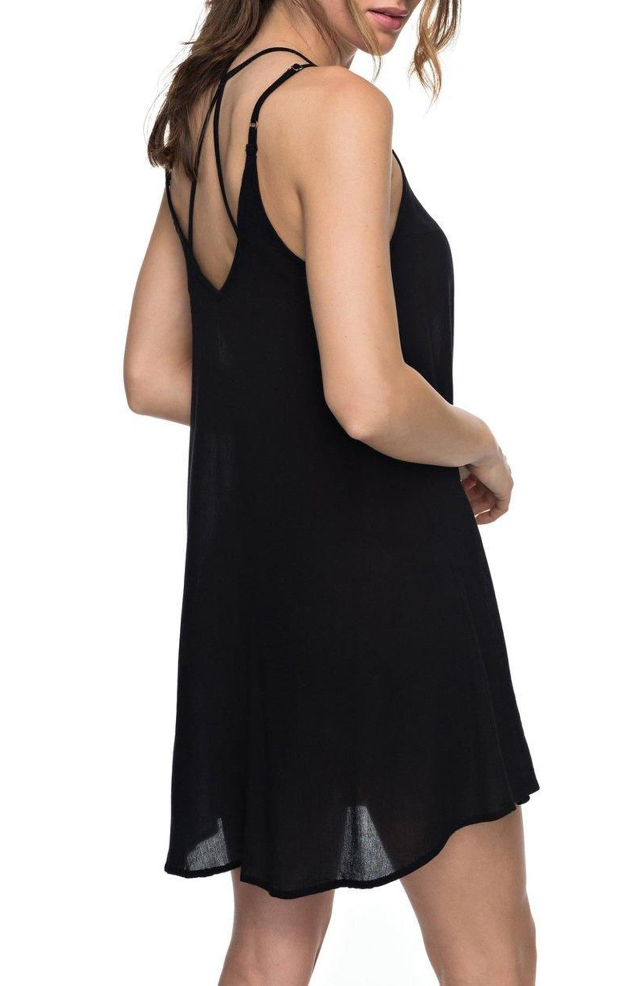 Dome of Amalfi Strappy Camisole Dress,                             Alternate thumbnail 2, color,                             002
