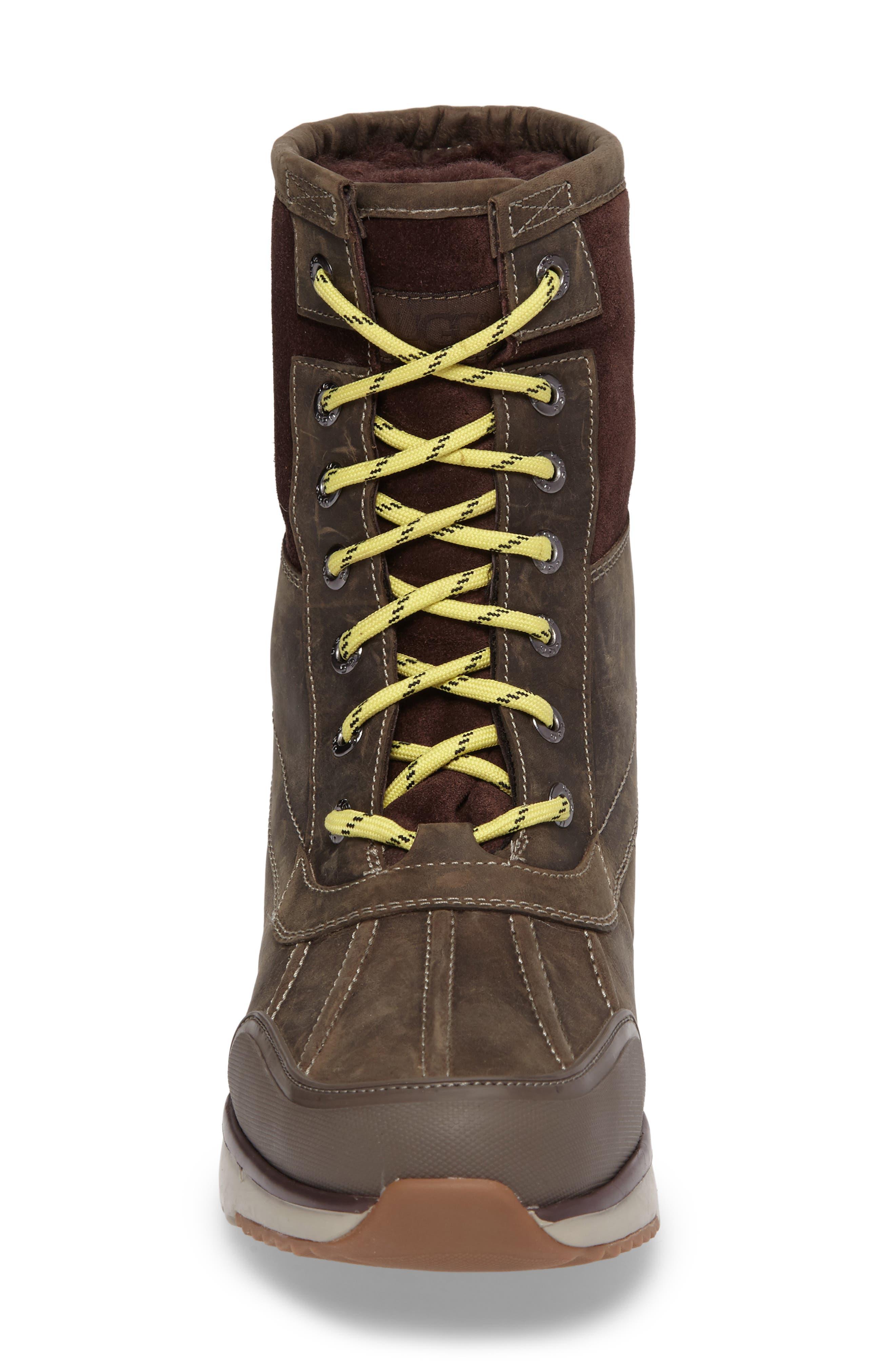 UGG<SUP>®</SUP>,                             Eliasson Waterproof Snow Boot,                             Alternate thumbnail 4, color,                             SLATE