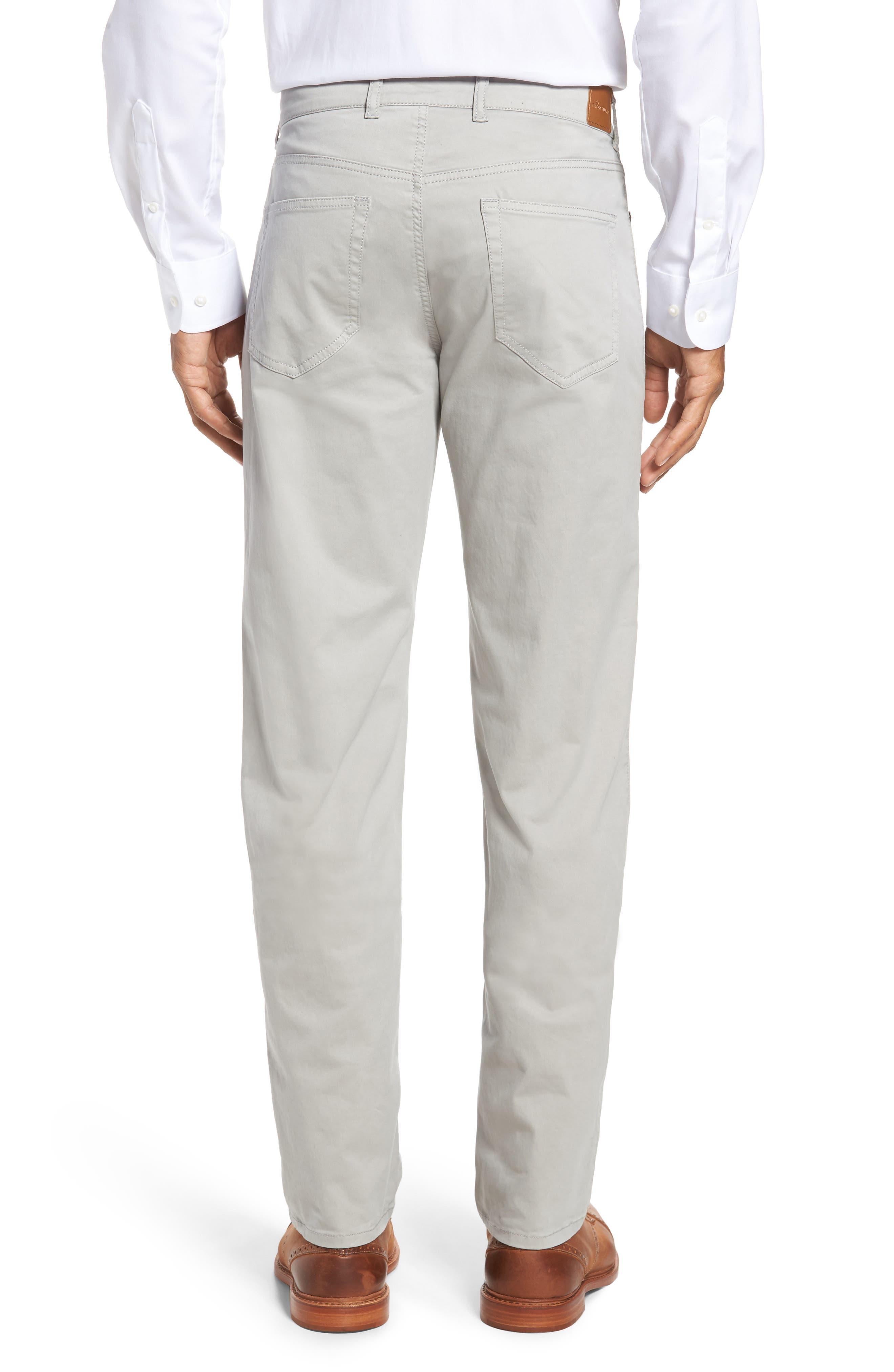 Stretch Sateen Five-Pocket Pants,                             Alternate thumbnail 2, color,                             050