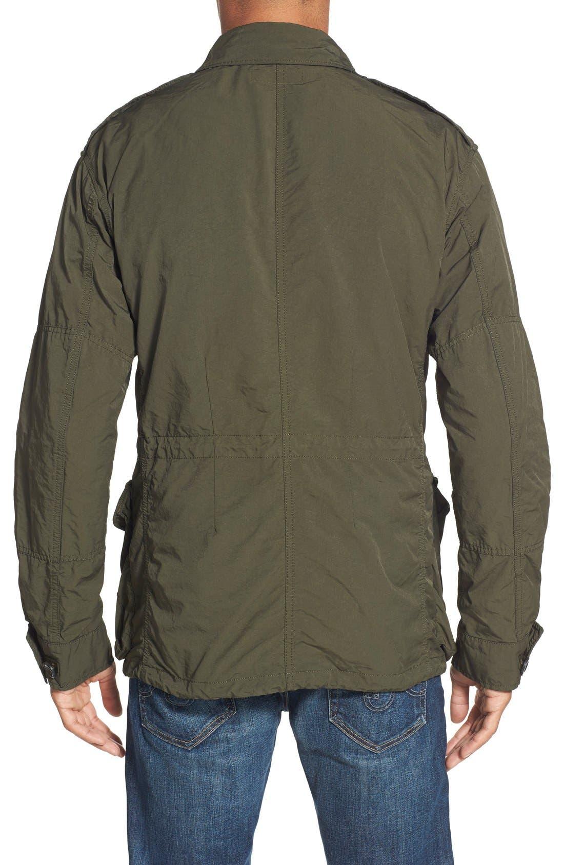 Twill Combat Military Jacket,                             Alternate thumbnail 5, color,                             300