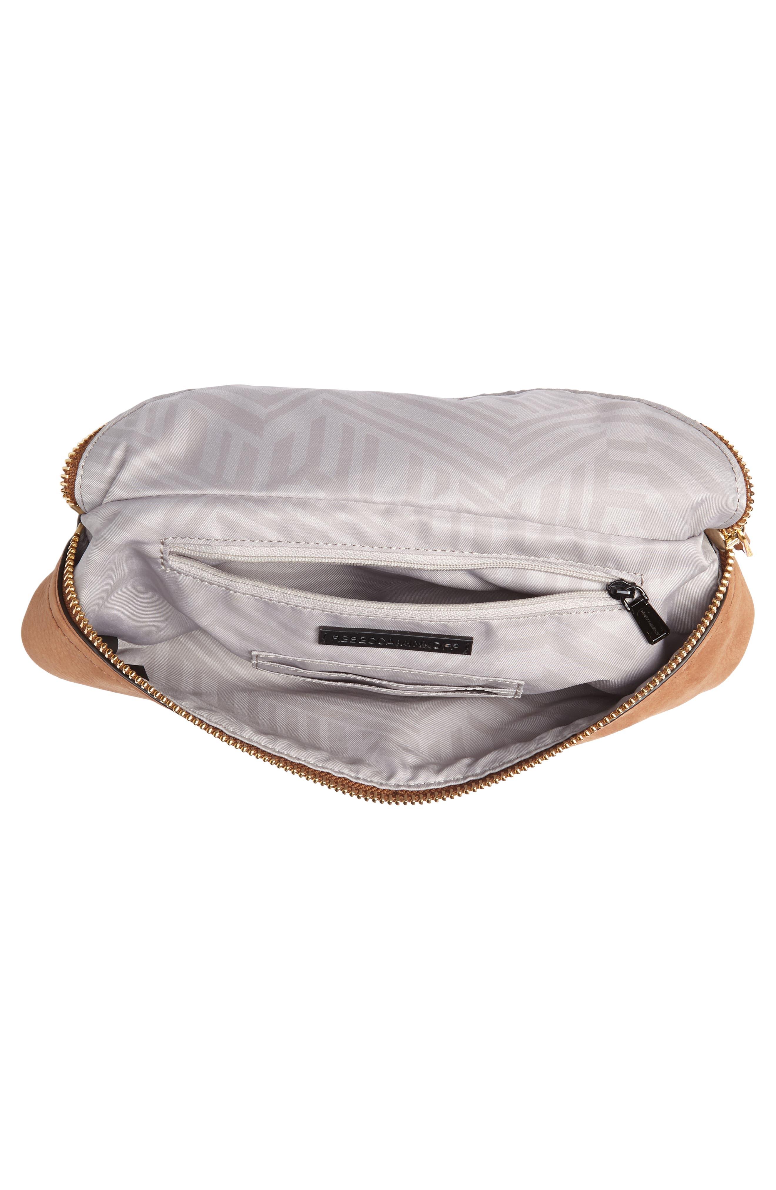 Bree Leather Belt Bag,                             Alternate thumbnail 4, color,                             230