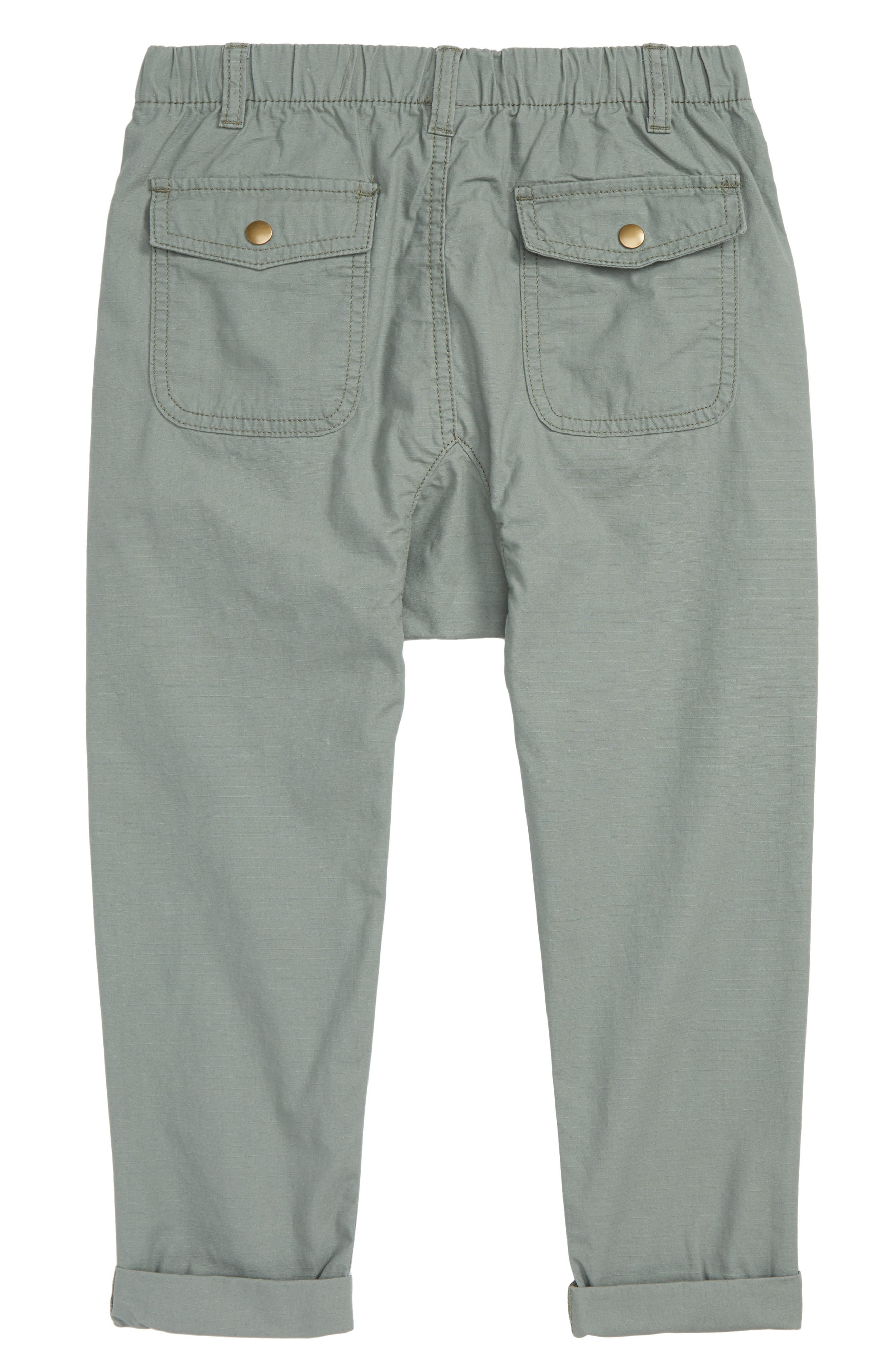 Pull-On Pants,                             Alternate thumbnail 2, color,                             GREEN AGAVE
