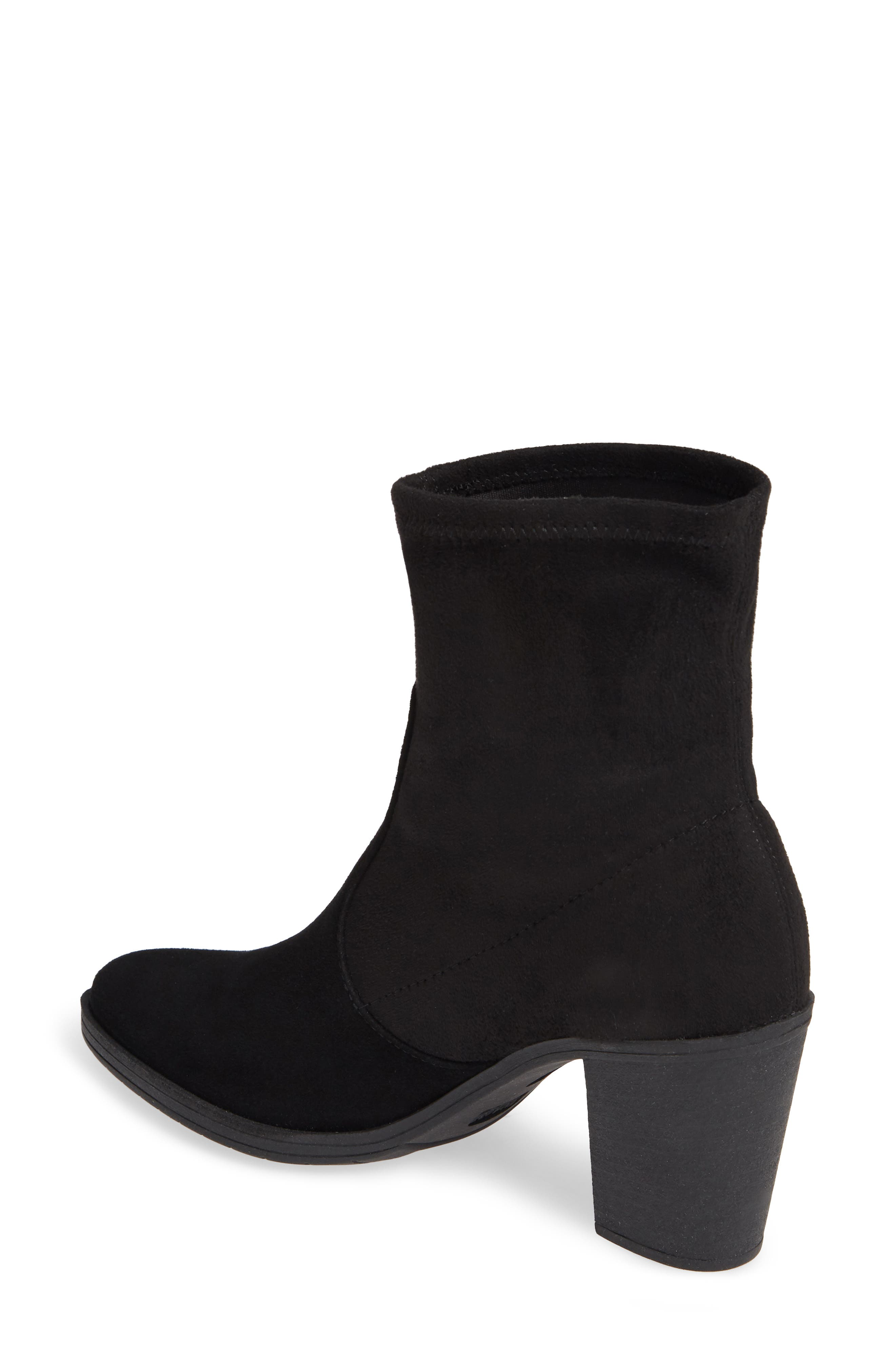 On The Rocks Bootie,                             Alternate thumbnail 2, color,                             BLACK SUEDE